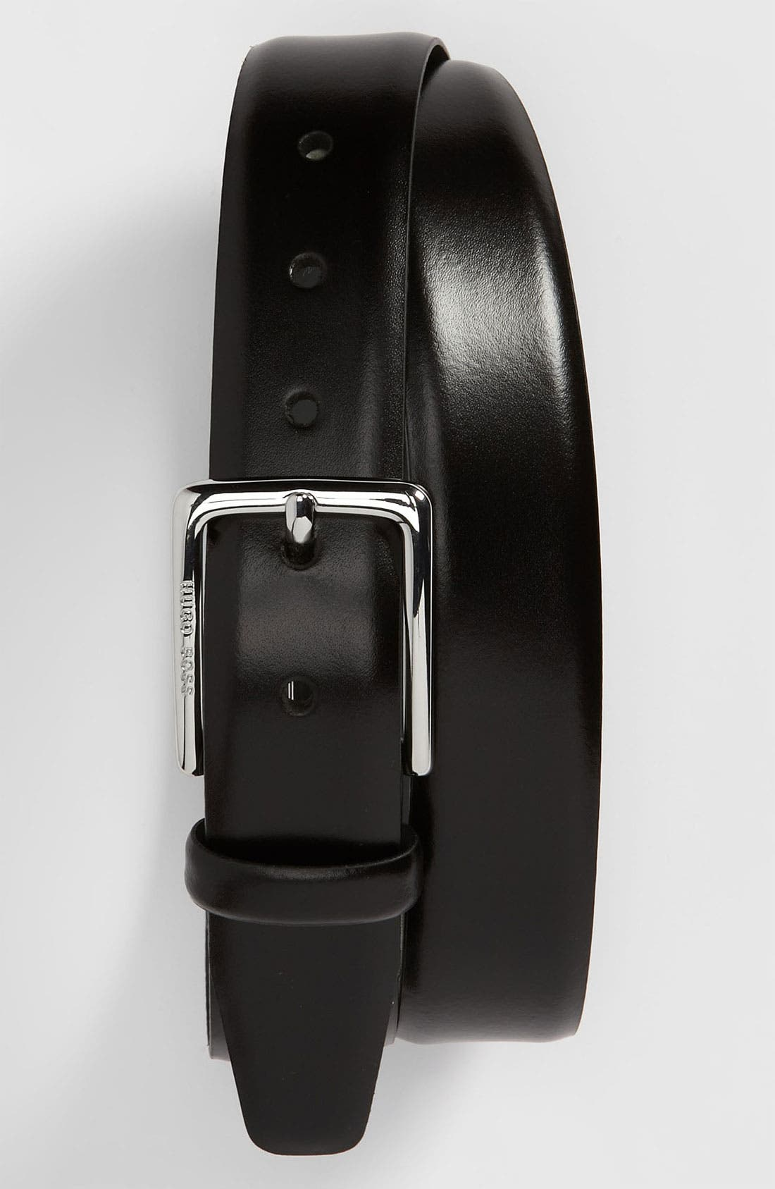 Alternate Image 1 Selected - BOSS Black 'Egor' Leather Belt