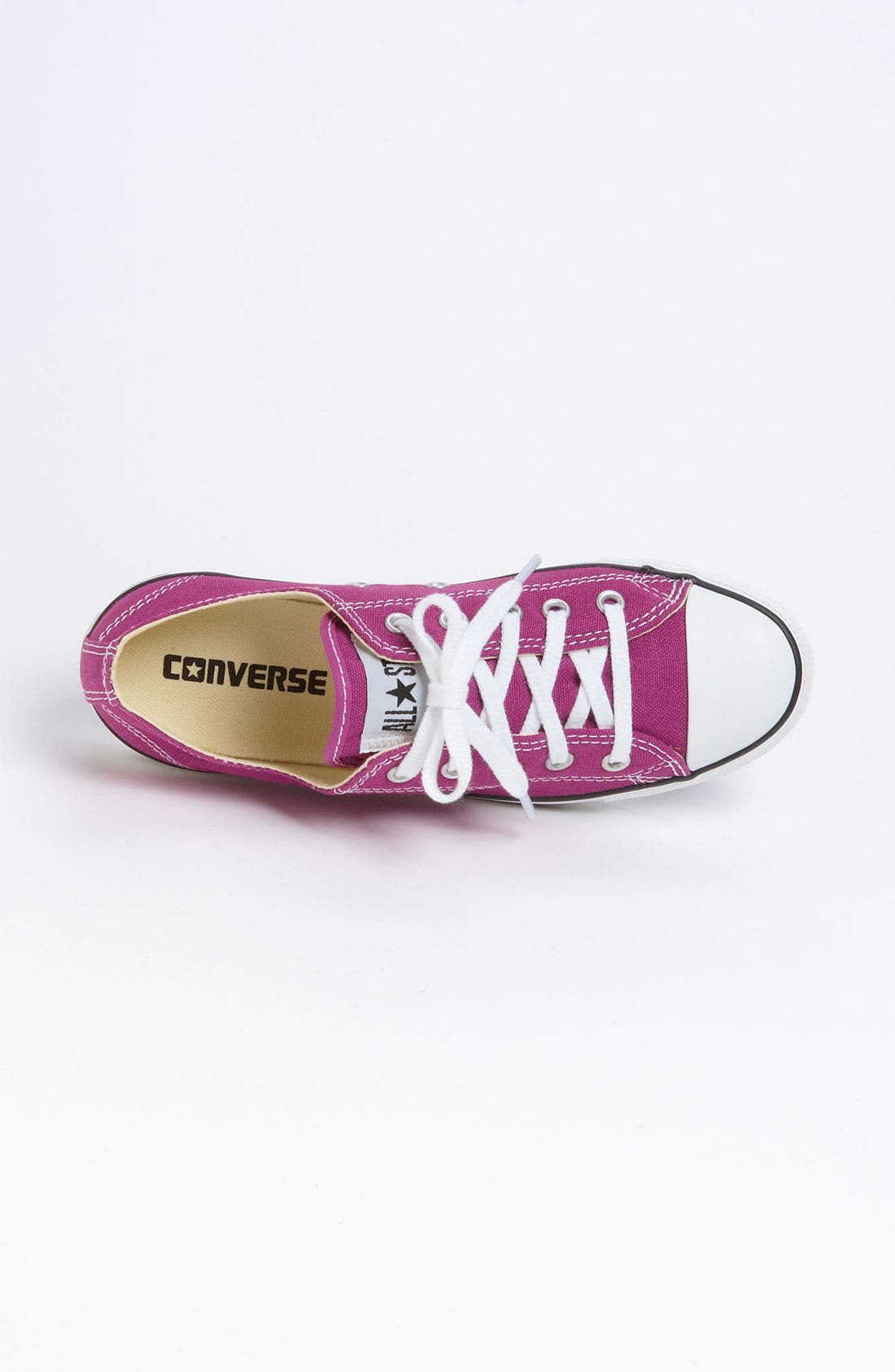 Chuck Taylor<sup>®</sup> 'Dainty' Sneaker,                             Alternate thumbnail 3, color,                             Deep Orchid