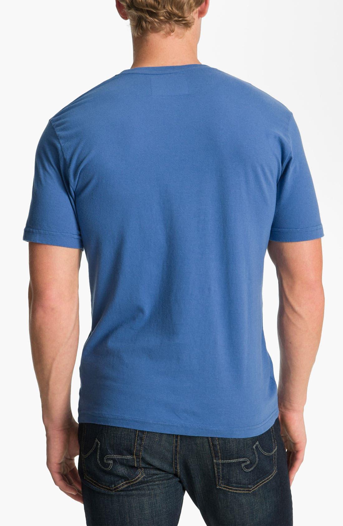 Alternate Image 2  - Red Jacket 'Cubs - Letterman' T-Shirt