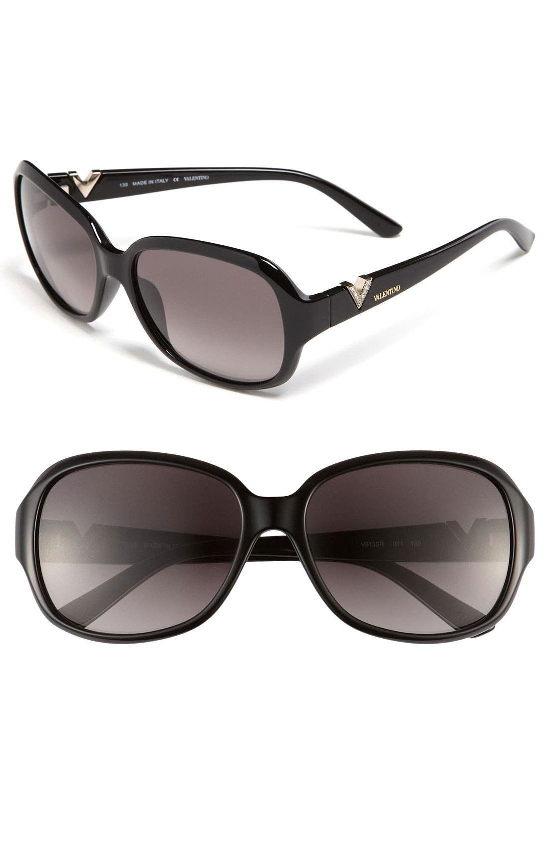 Main Image - Valentino 57mm Classic Sunglasses