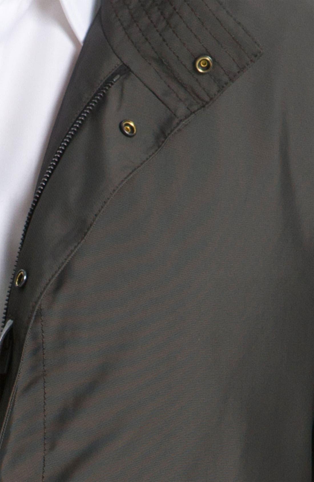 Alternate Image 3  - BOSS Black 'The Pander' Trim Fit Raincoat