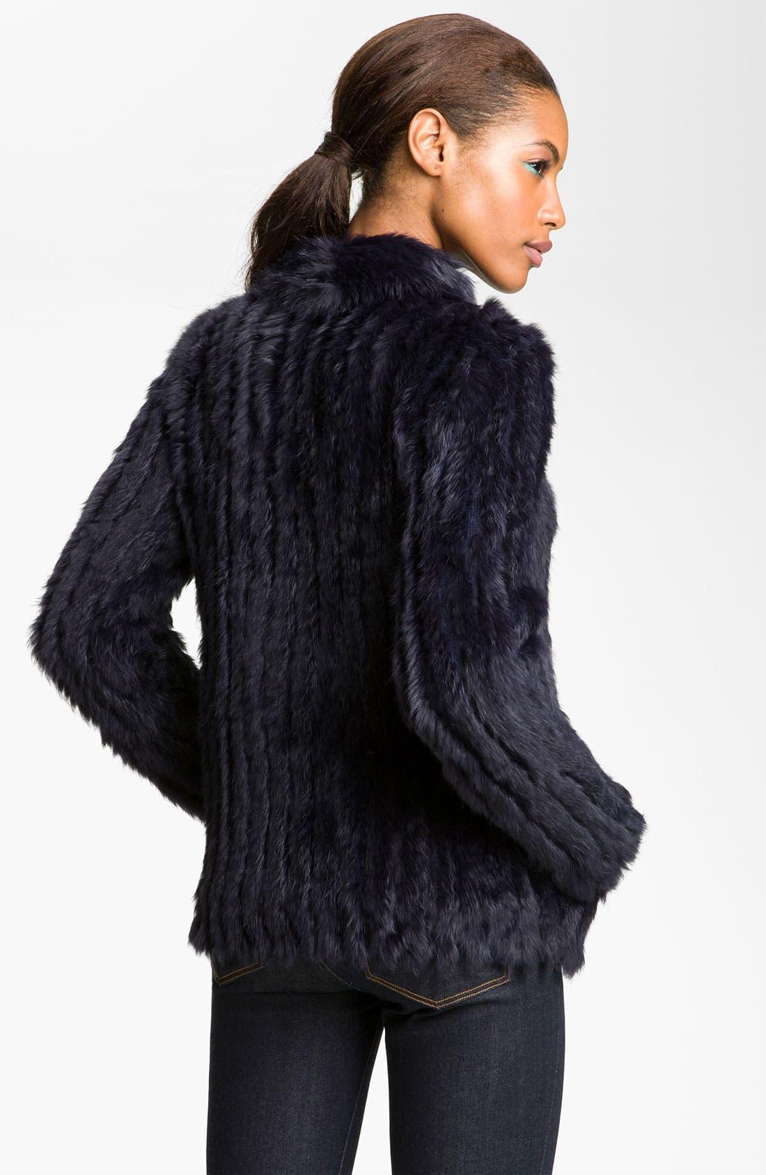 Alternate Image 2  - MARC BY MARC JACOBS 'Katrina' Genuine Rabbit Fur Jacket