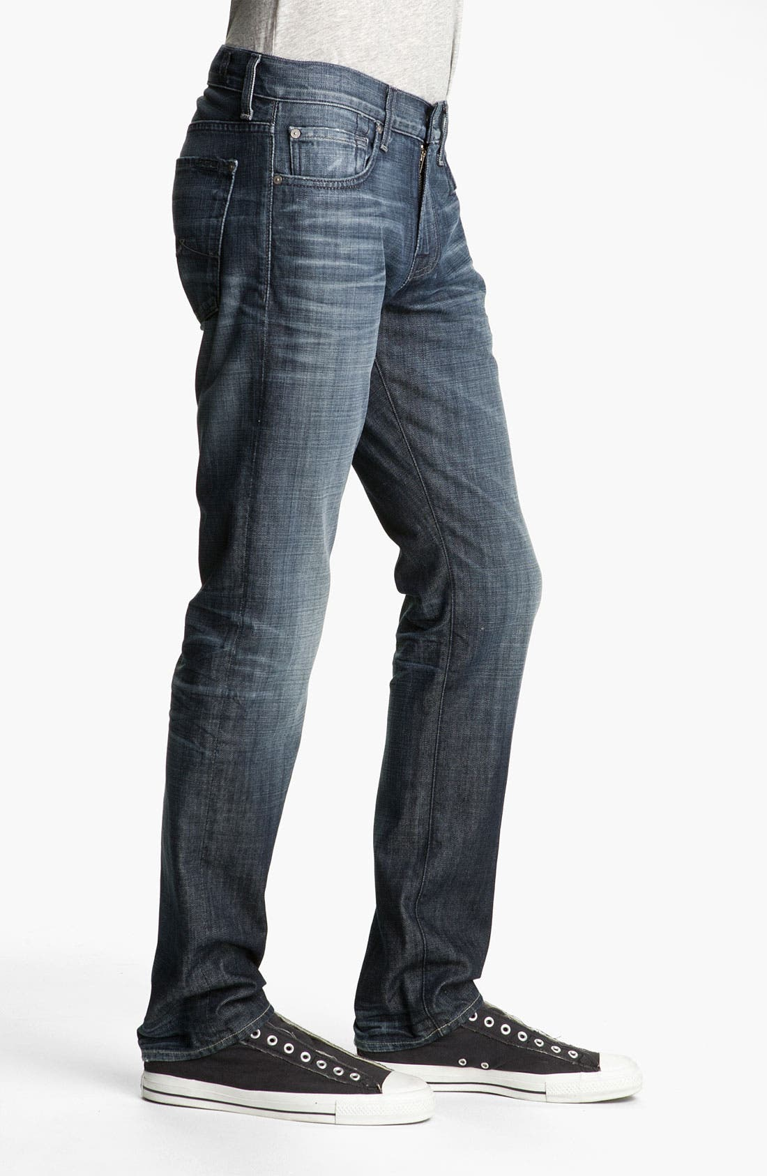 Alternate Image 3  - 7 For All Mankind® 'The Straight' Slim Straight Leg Jeans (Crater Lake)