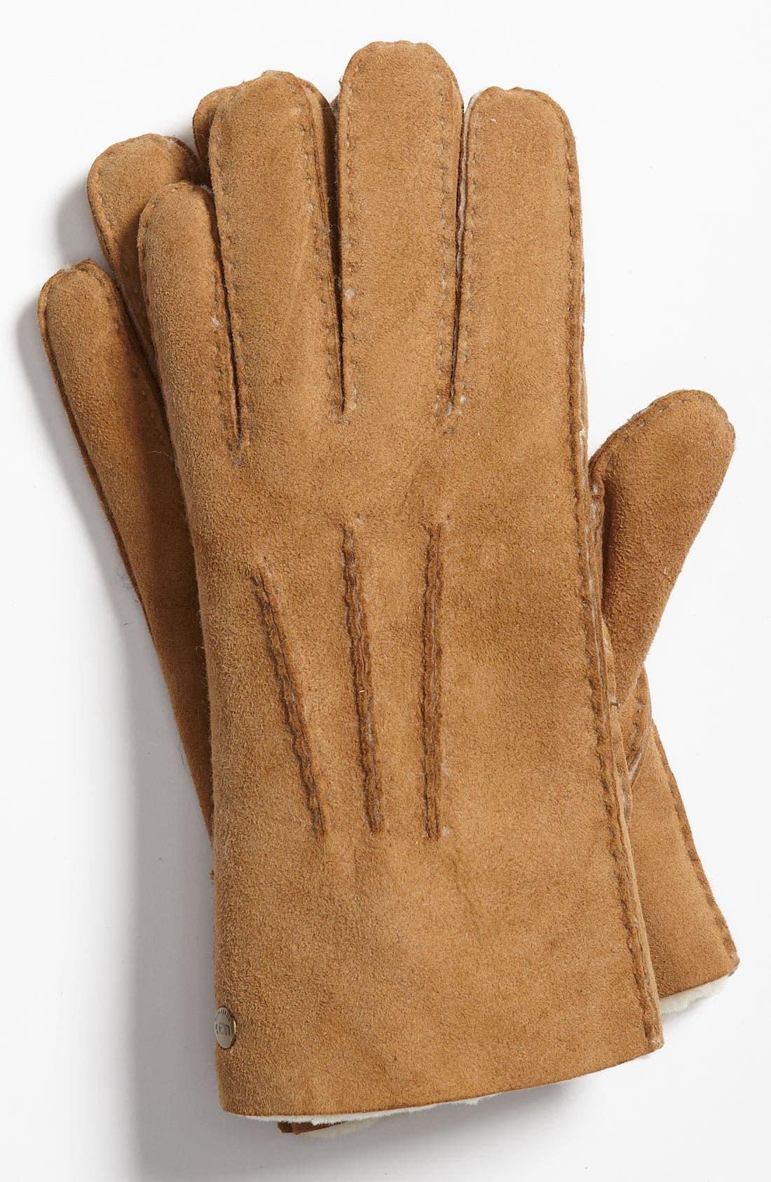 Main Image - UGG® Australia Genuine Shearling Gloves