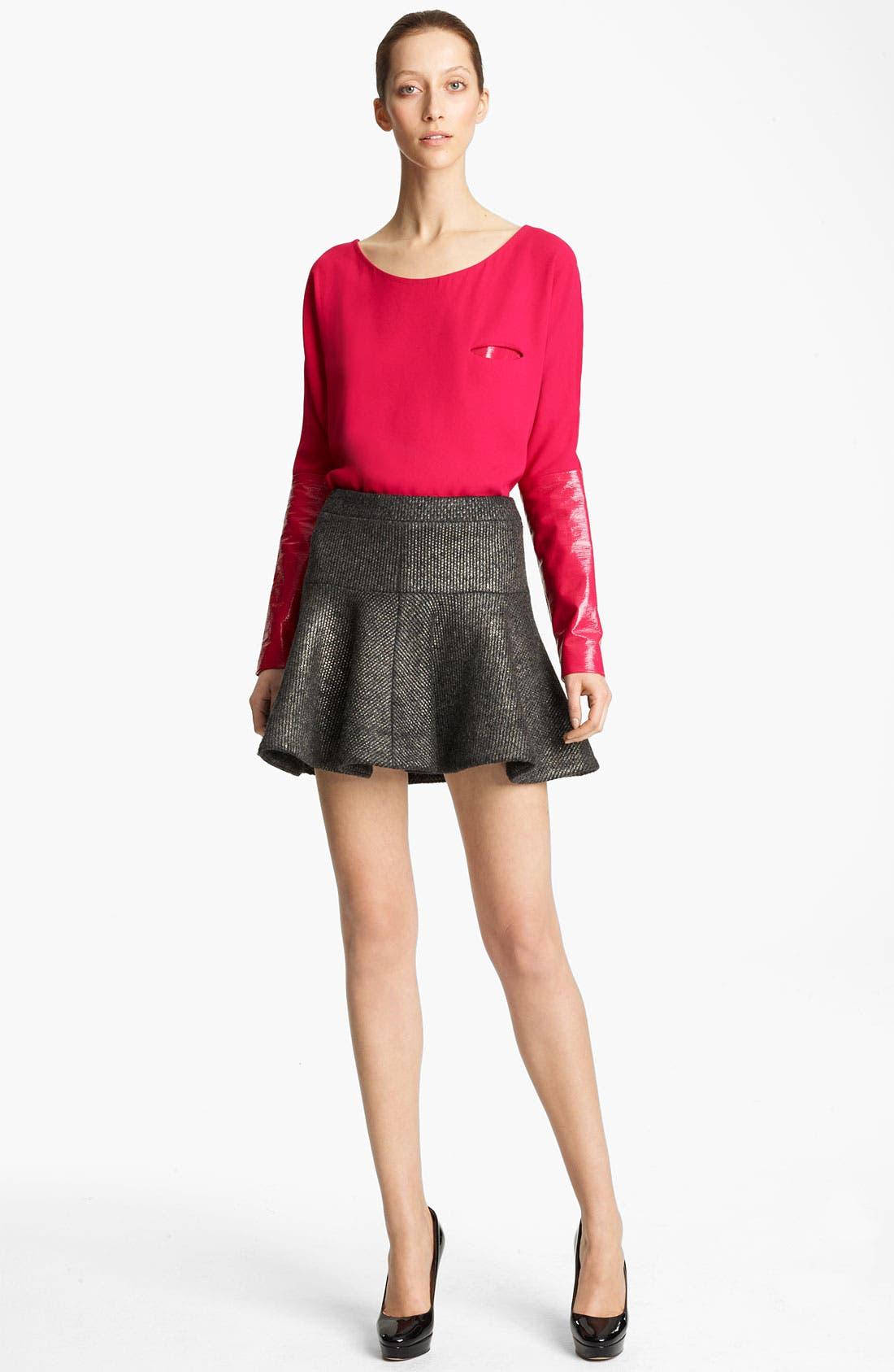 Alternate Image 4  - Thakoon Foiled Knit Skirt