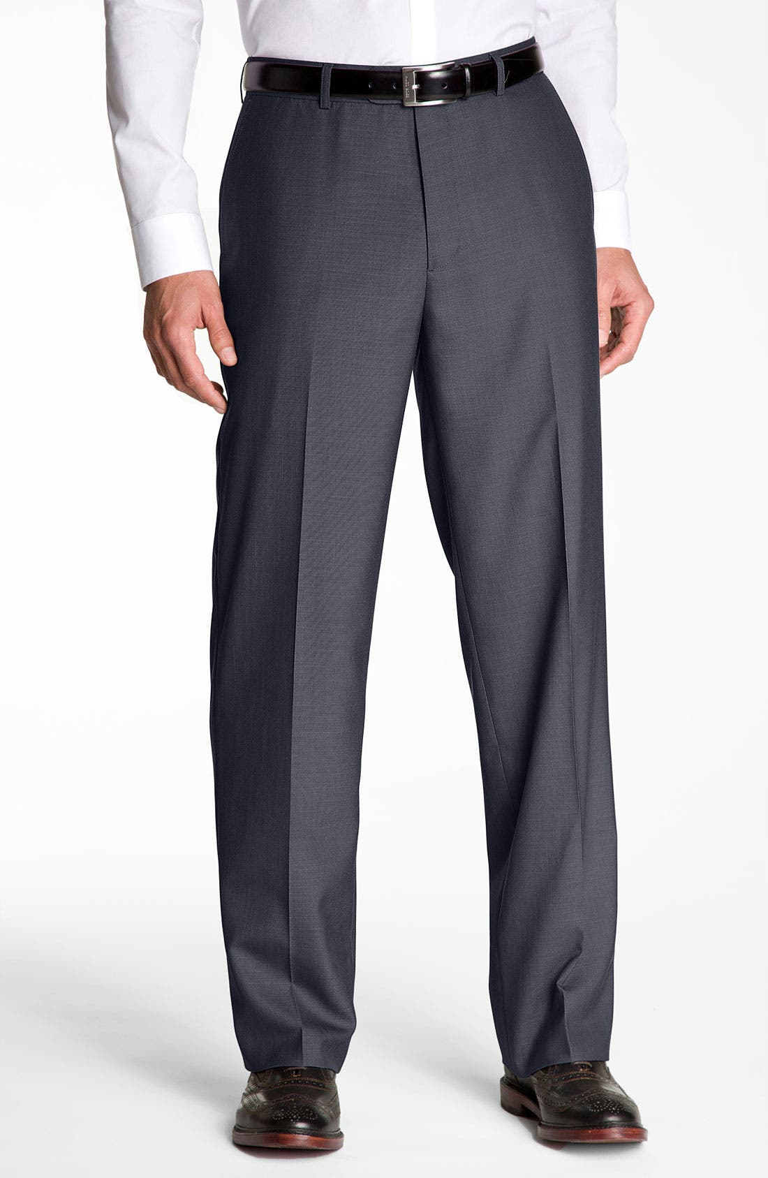 Alternate Image 1 Selected - Linea Naturale 'Wear Now Work Now' Microfiber Trousers