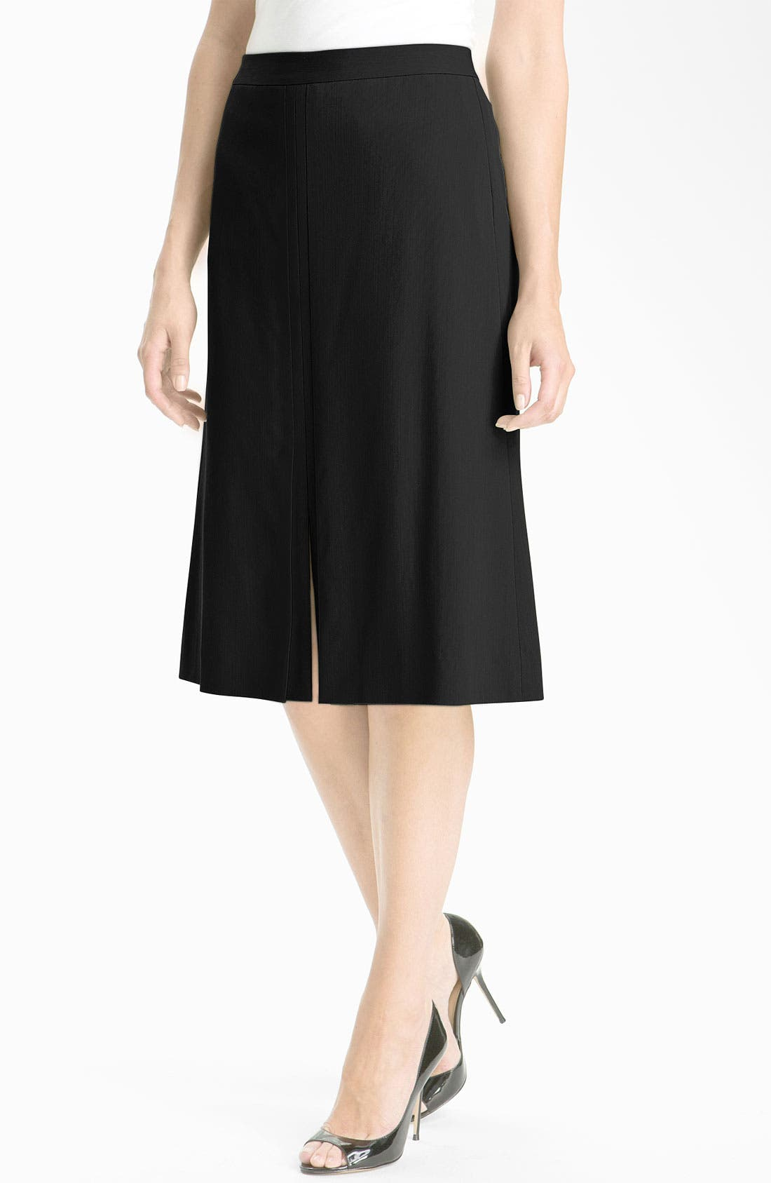Alternate Image 1 Selected - Classiques Entier® 'Willow' Twill Skirt
