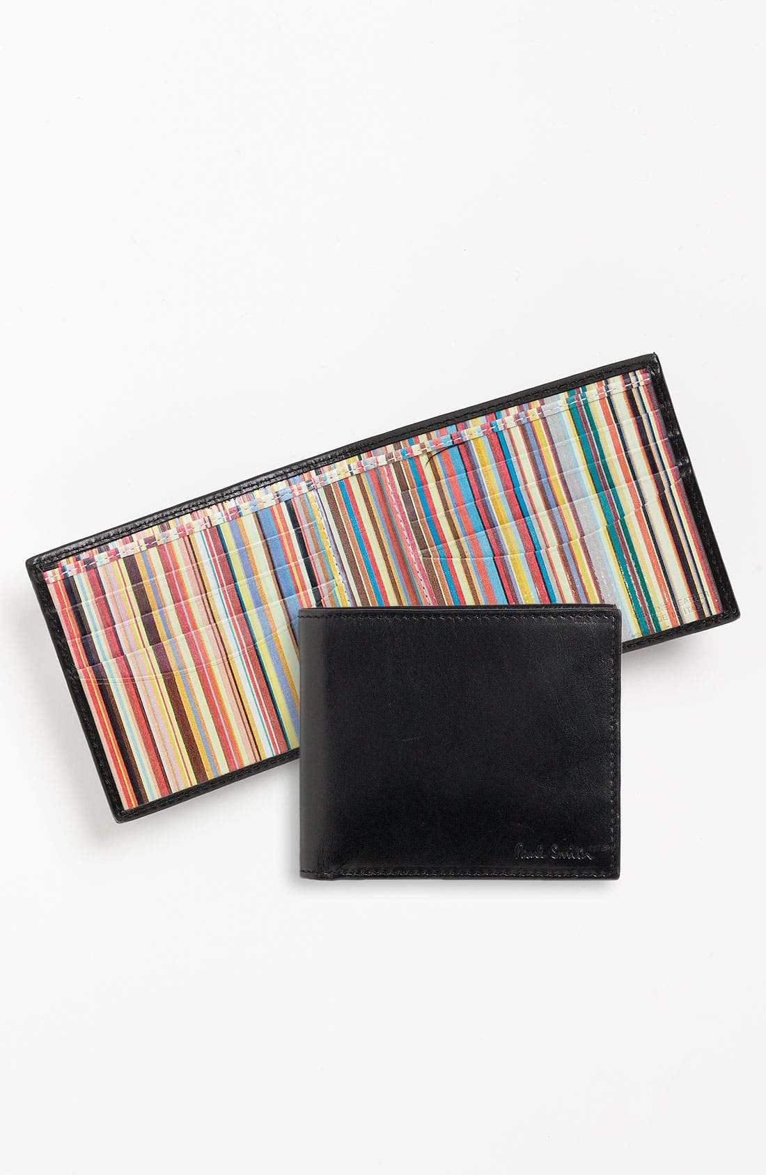 Alternate Image 1 Selected - Paul Smith Accessories Calfskin Leather Billfold Wallet