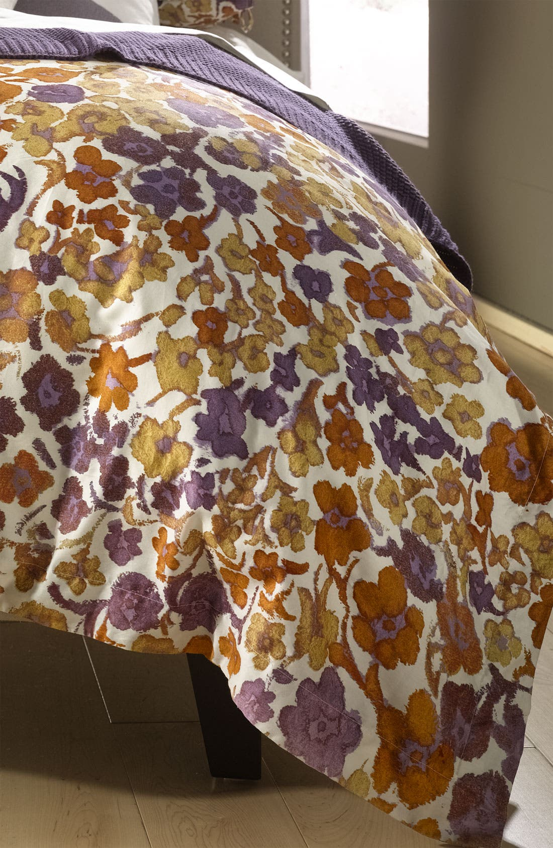 Alternate Image 1 Selected - Diane von Furstenberg 'Spanish Leopard' 300 Thread Count Duvet Cover