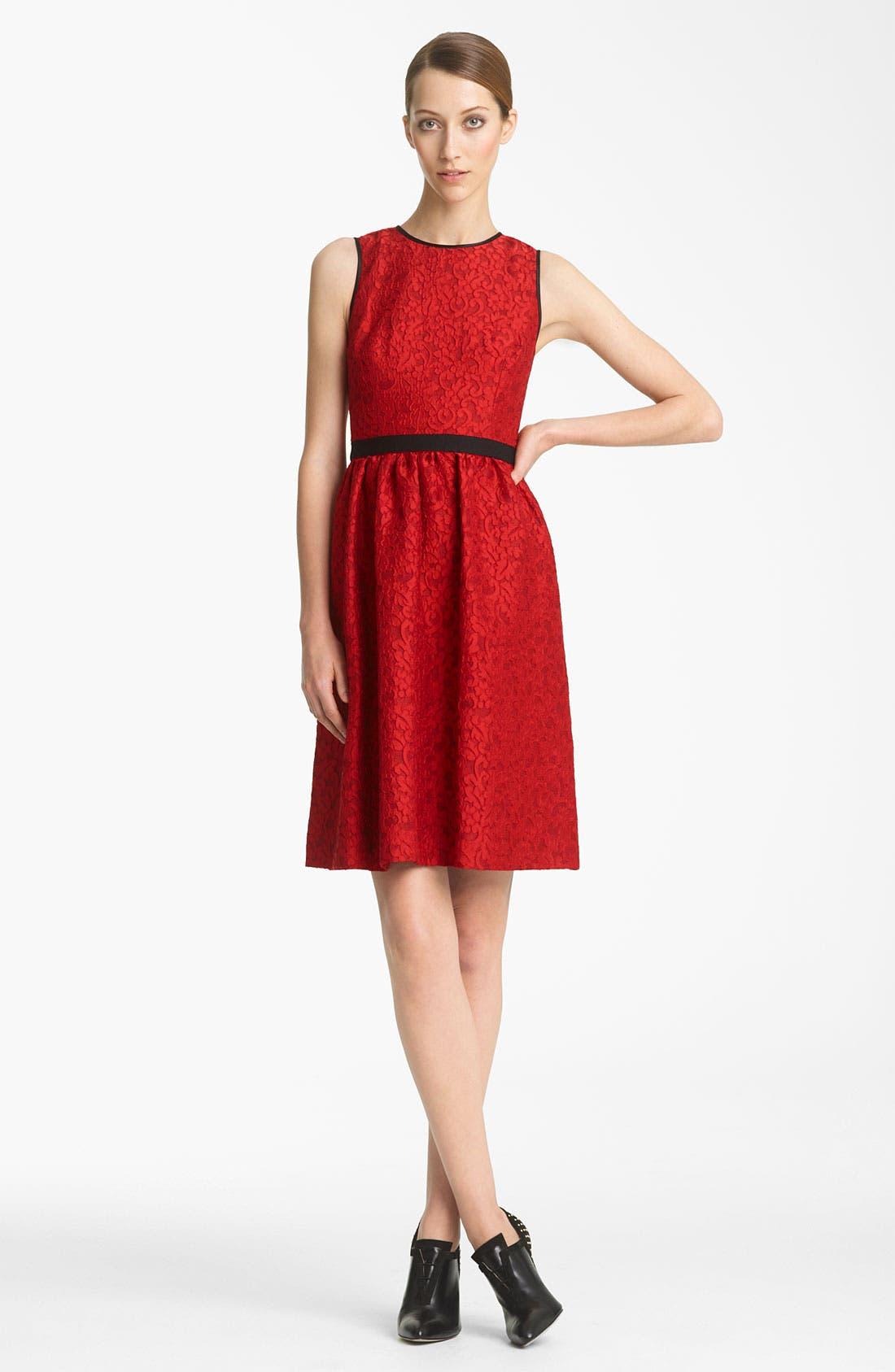 Alternate Image 1 Selected - Jason Wu Lace Jacquard Dress