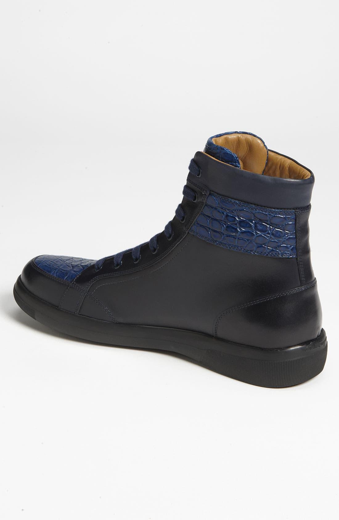Alternate Image 2  - Salvatore Ferragamo 'Austria 2' Hi-Top Sneaker