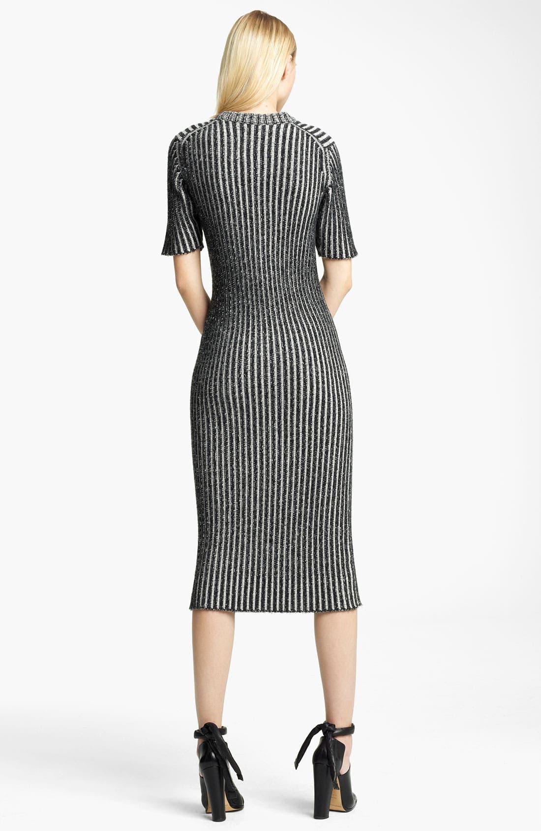 Alternate Image 2  - Christopher Kane Ribbed Cashmere Dress