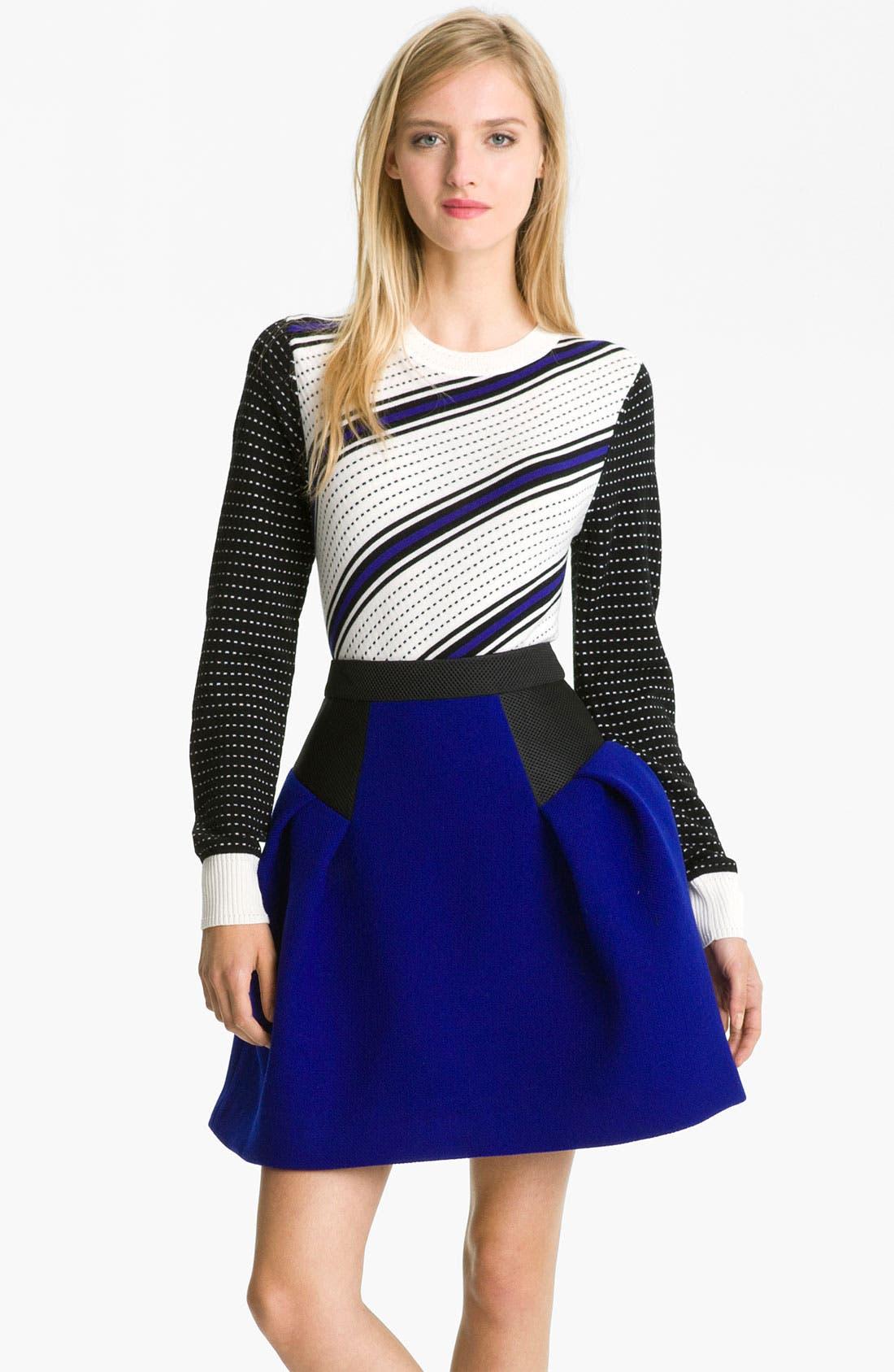 Alternate Image 1 Selected - Milly 'Dakota' Merino Wool Sweater