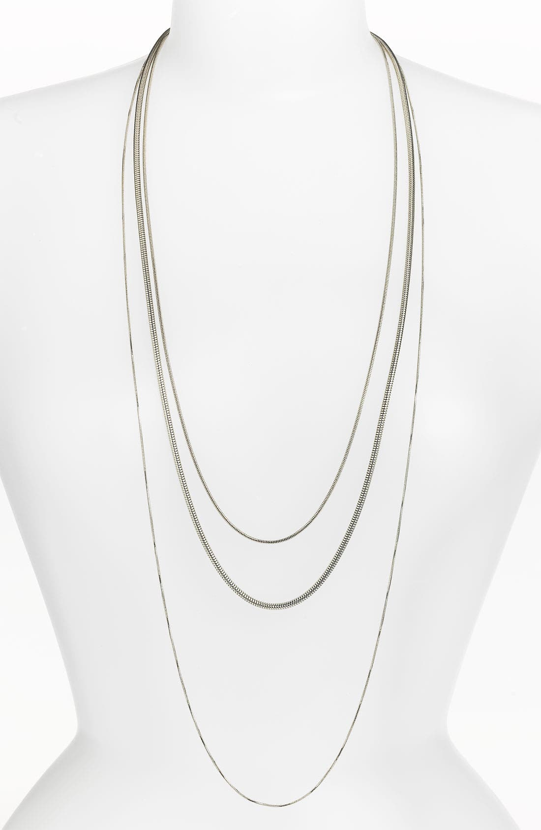 Alternate Image 1 Selected - BP. Multi Chain Necklace