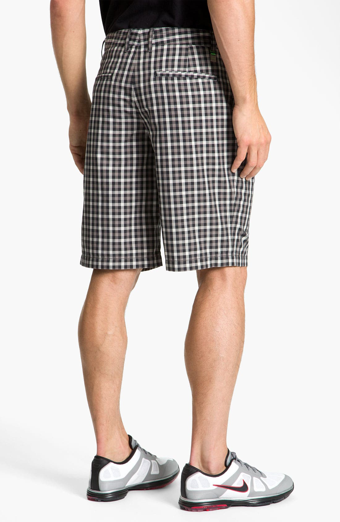 Alternate Image 2  - BOSS Green 'Hitch' Plaid Golf Shorts