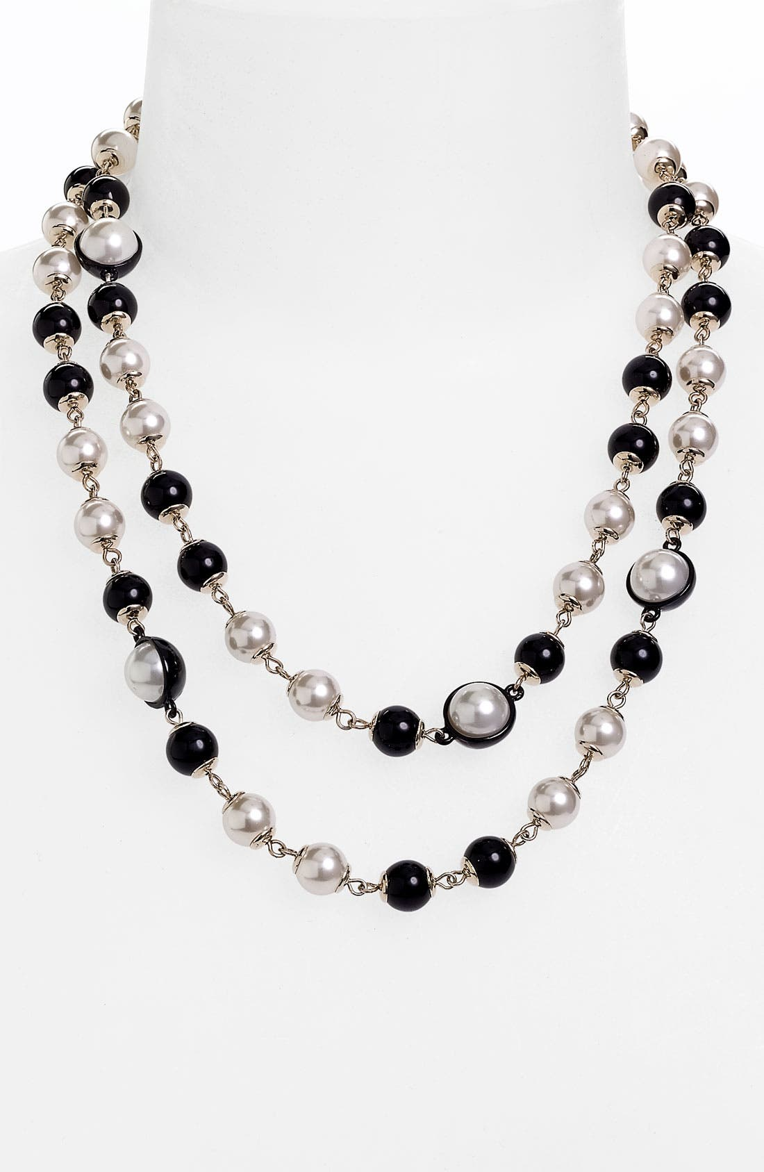 Alternate Image 2  - Anne Klein Long Necklace
