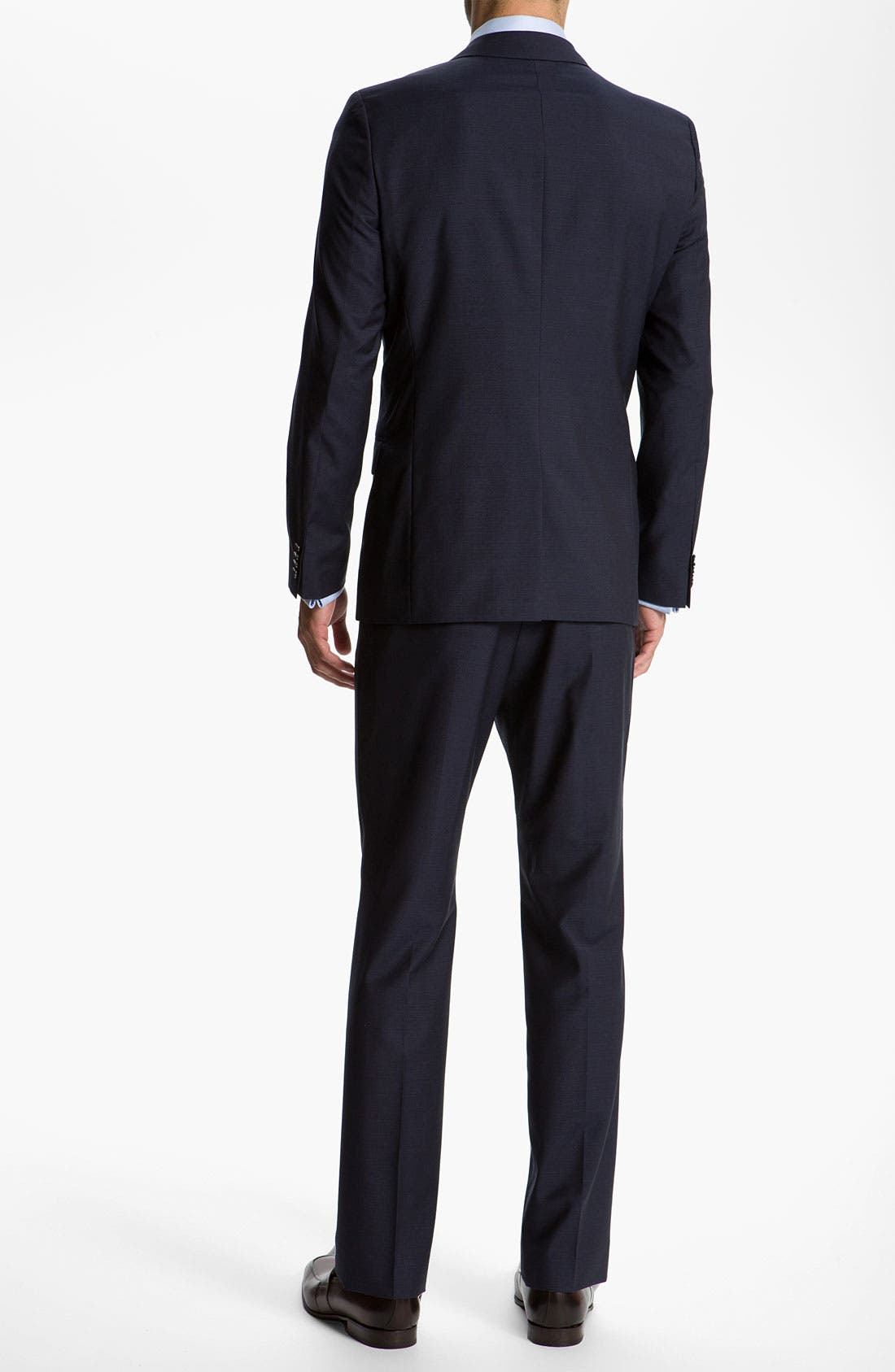 Alternate Image 3  - HUGO 'Astro/Hill' Extra Trim Fit Wool/Mohair Suit