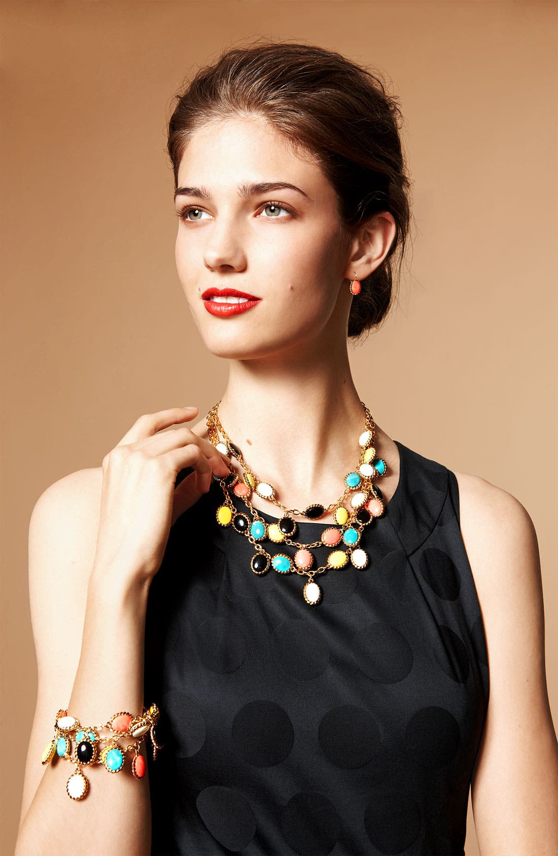 Alternate Image 2  - kate spade new york 'roped in' bib necklace