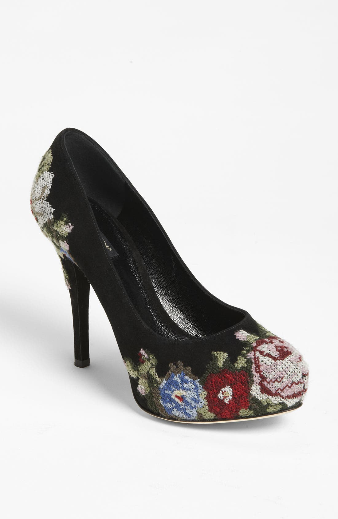 Alternate Image 1 Selected - Dolce&Gabbana Tapestry Platform Pump