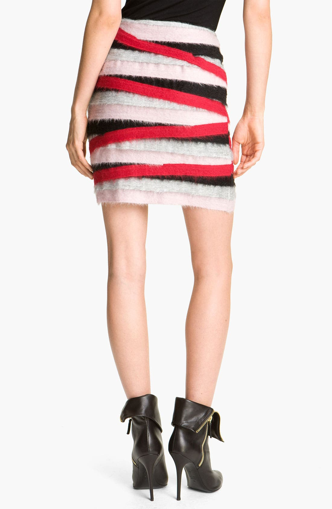 Alternate Image 2  - MSGM Stripe Miniskirt