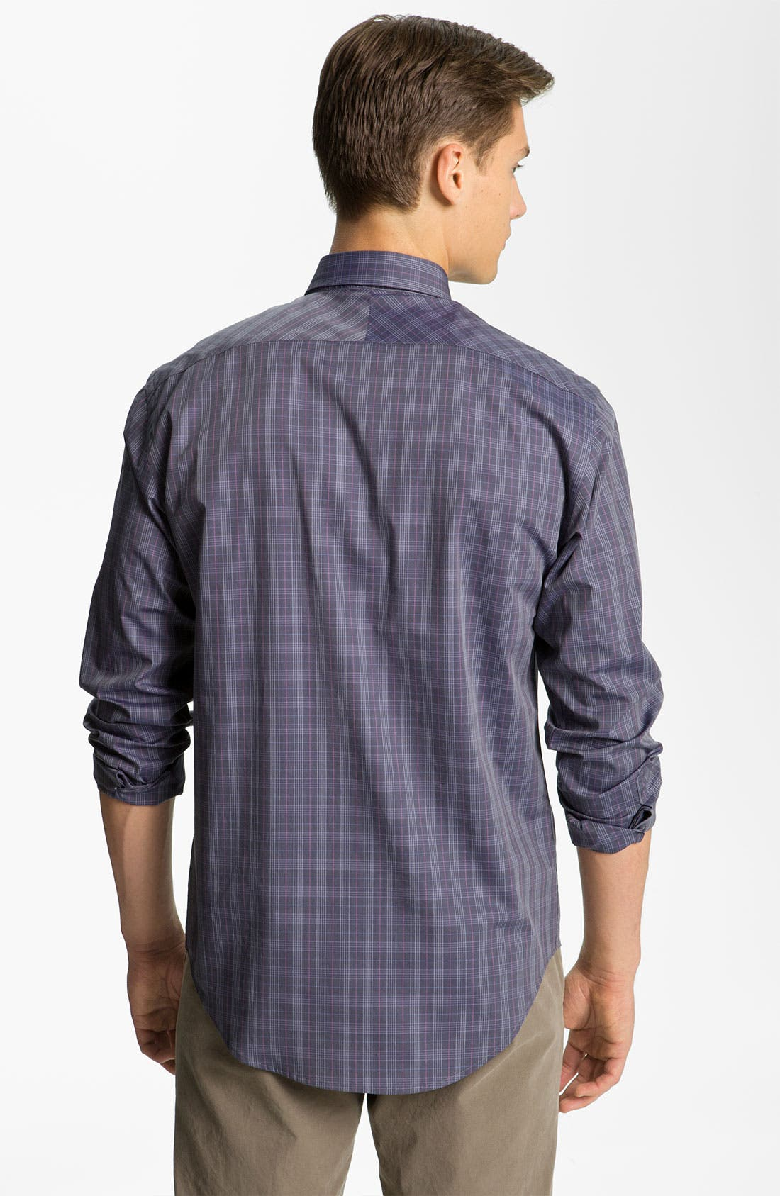 Alternate Image 2  - Billy Reid Plaid Woven Shirt