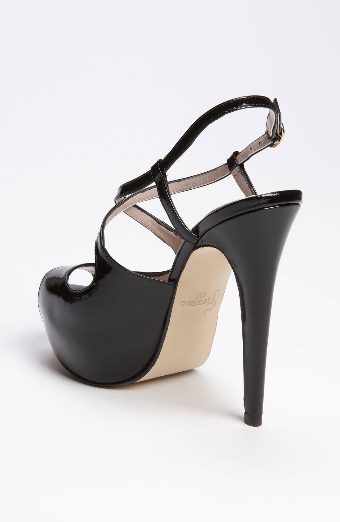 Alternate Image 2  - Flounce 'Dazzle' Platform Sandal