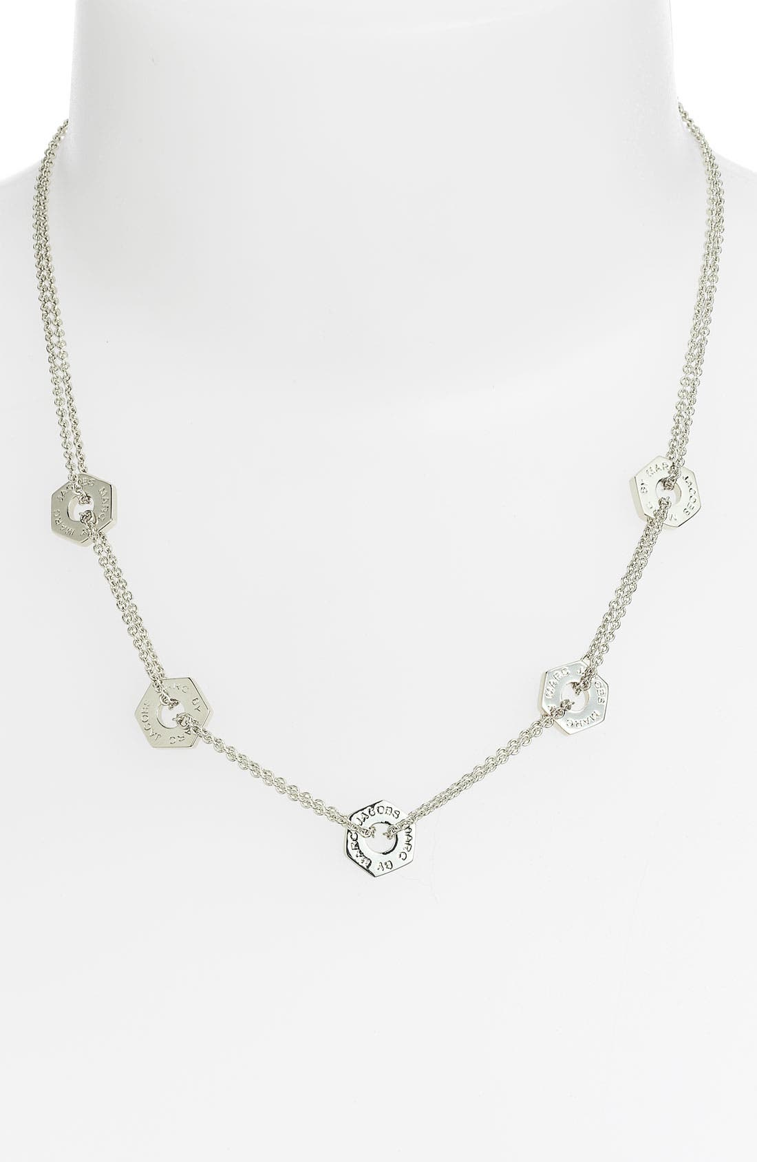 Main Image - MARC BY MARC JACOBS 'Bolts' Station Necklace