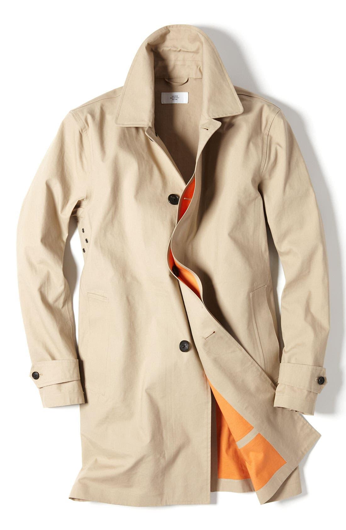 Alternate Image 4  - Jack Spade Bonded Raincoat