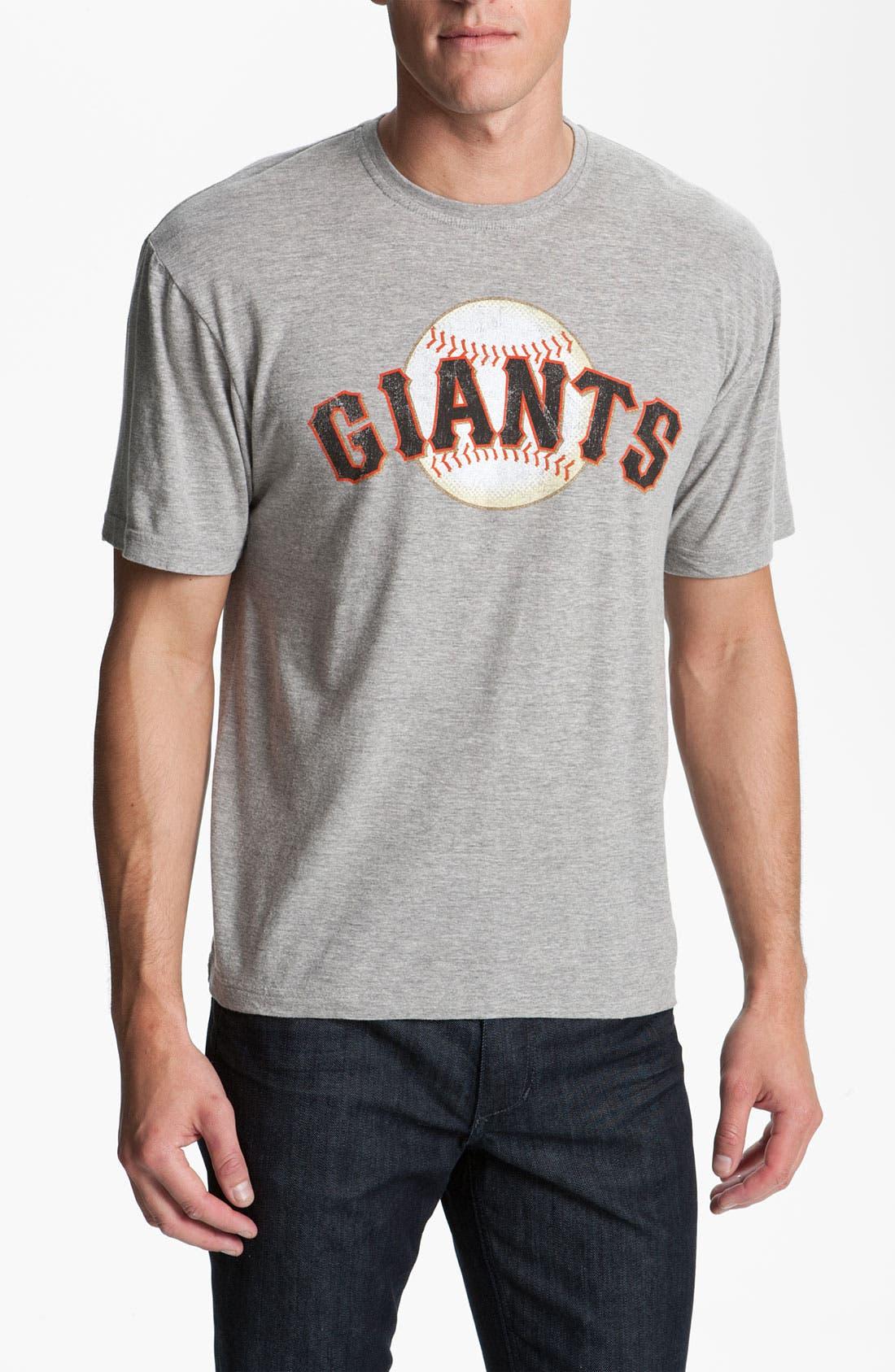 'San Francisco Giants' T-Shirt,                         Main,                         color, Heather Grey