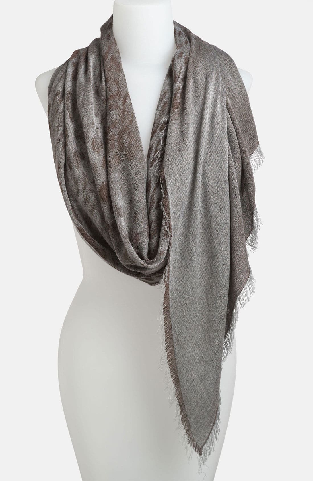 Main Image - Nordstrom 'Blurred Animal' Scarf