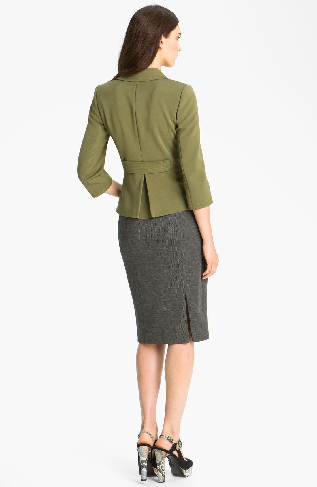 Alternate Image 5  - Classiques Entier® 'Duomo' Knit Pencil Skirt