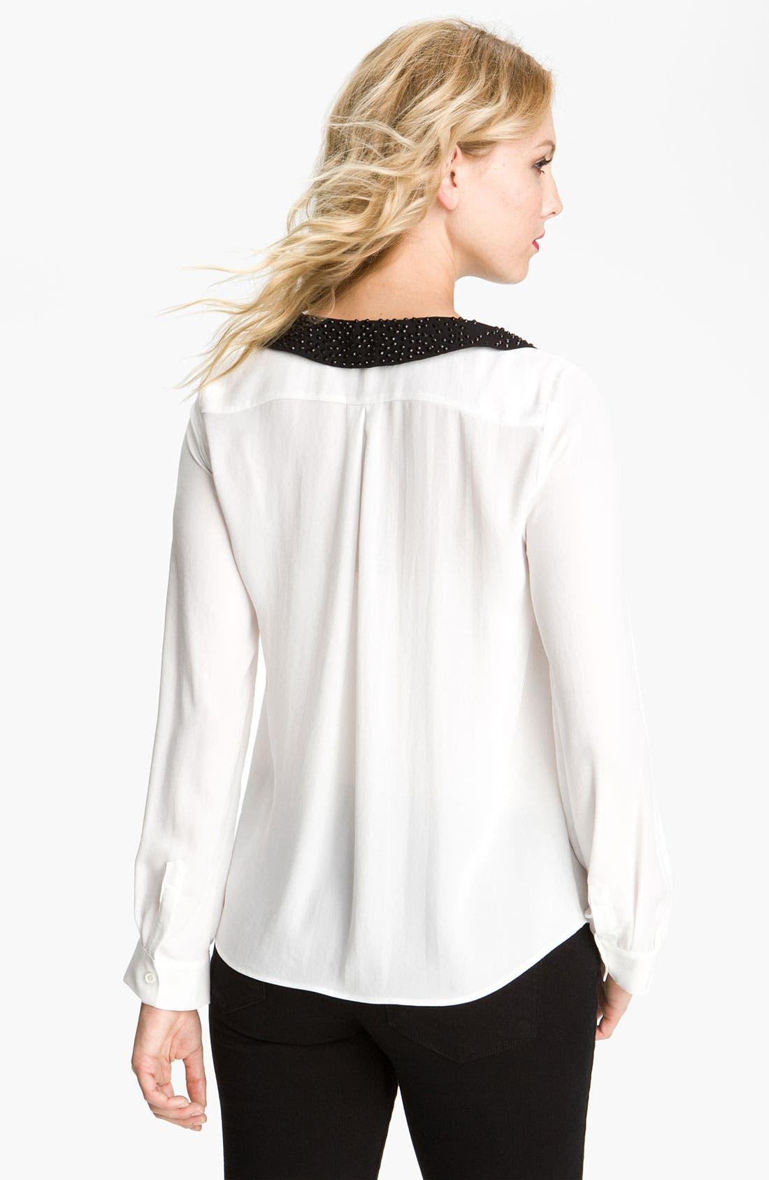 Alternate Image 2  - Bellatrix Embellished Collar Shirt