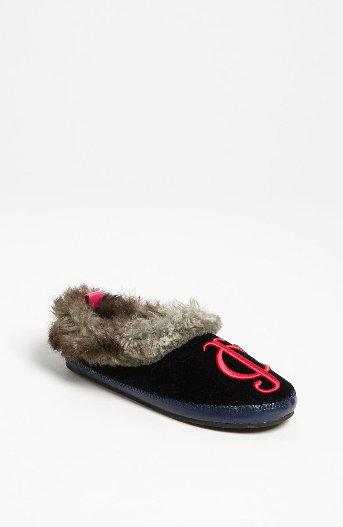 Alternate Image 1 Selected - Juicy Couture 'Kelly' Slipper (Toddler, Little Kid & Big Kid)