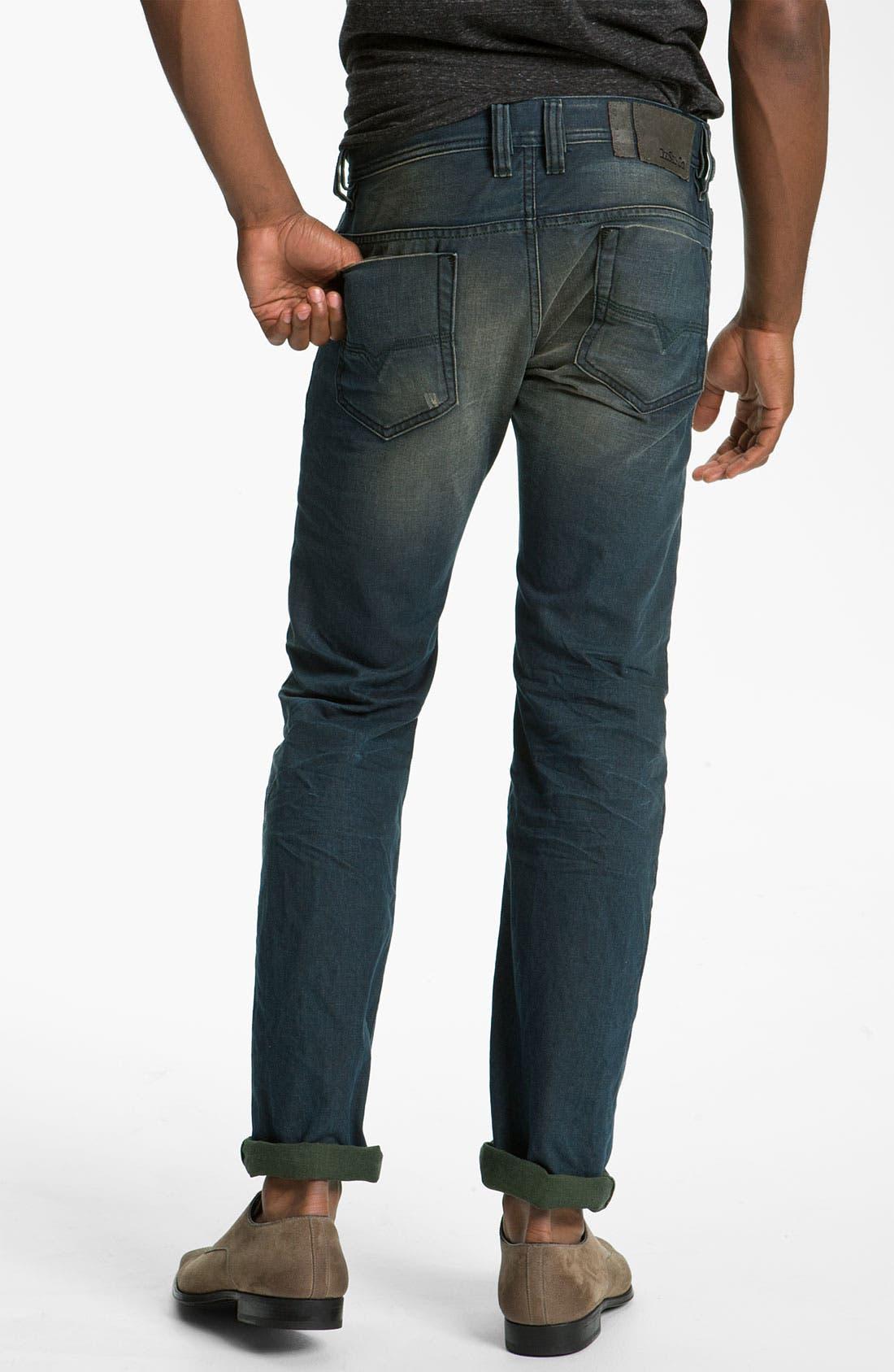 Alternate Image 2  - DIESEL® 'Safado' Slim Straight Leg Jeans (0804Z)