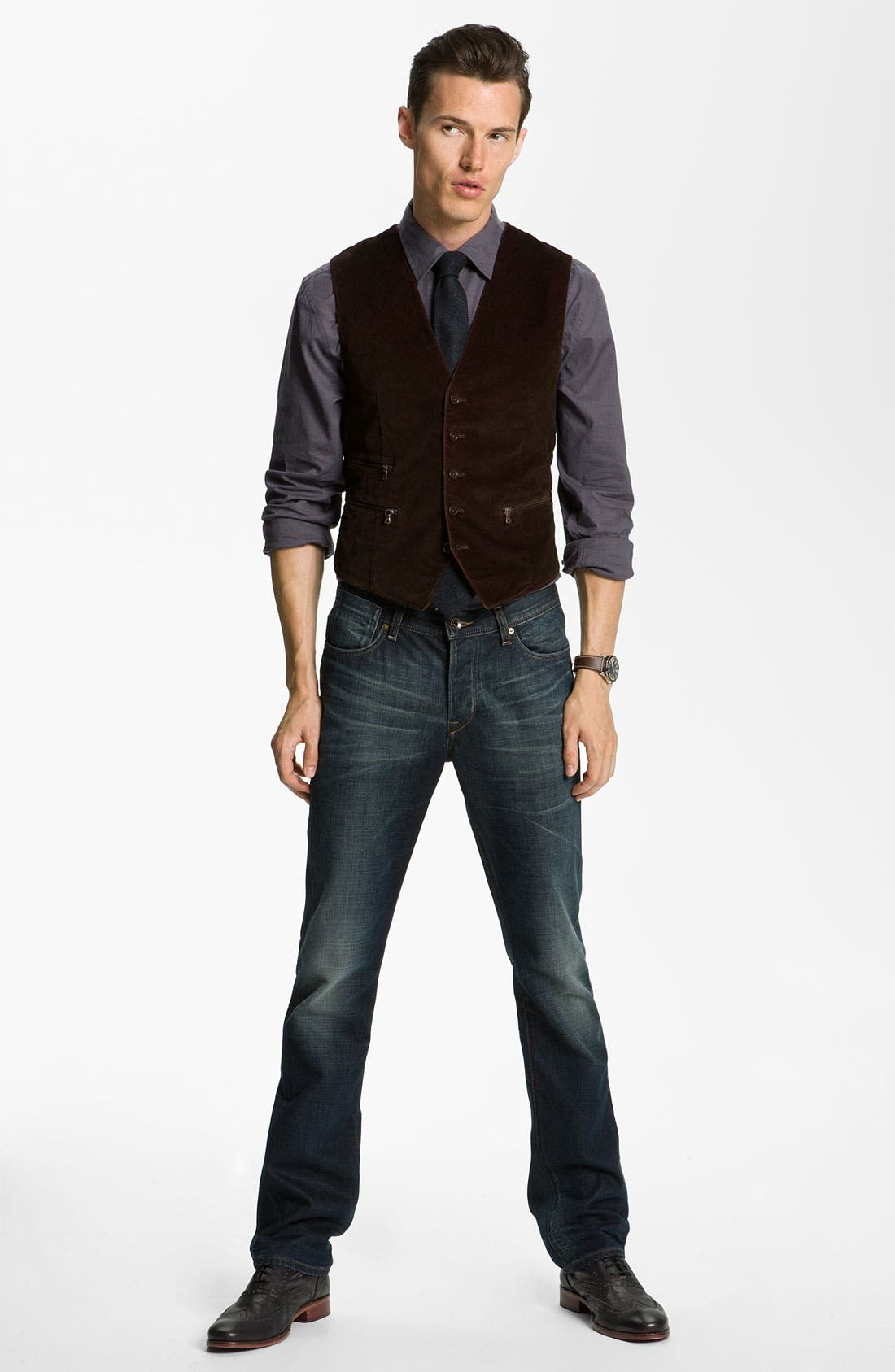 Alternate Image 4  - John Varvatos Star USA Sport Shirt