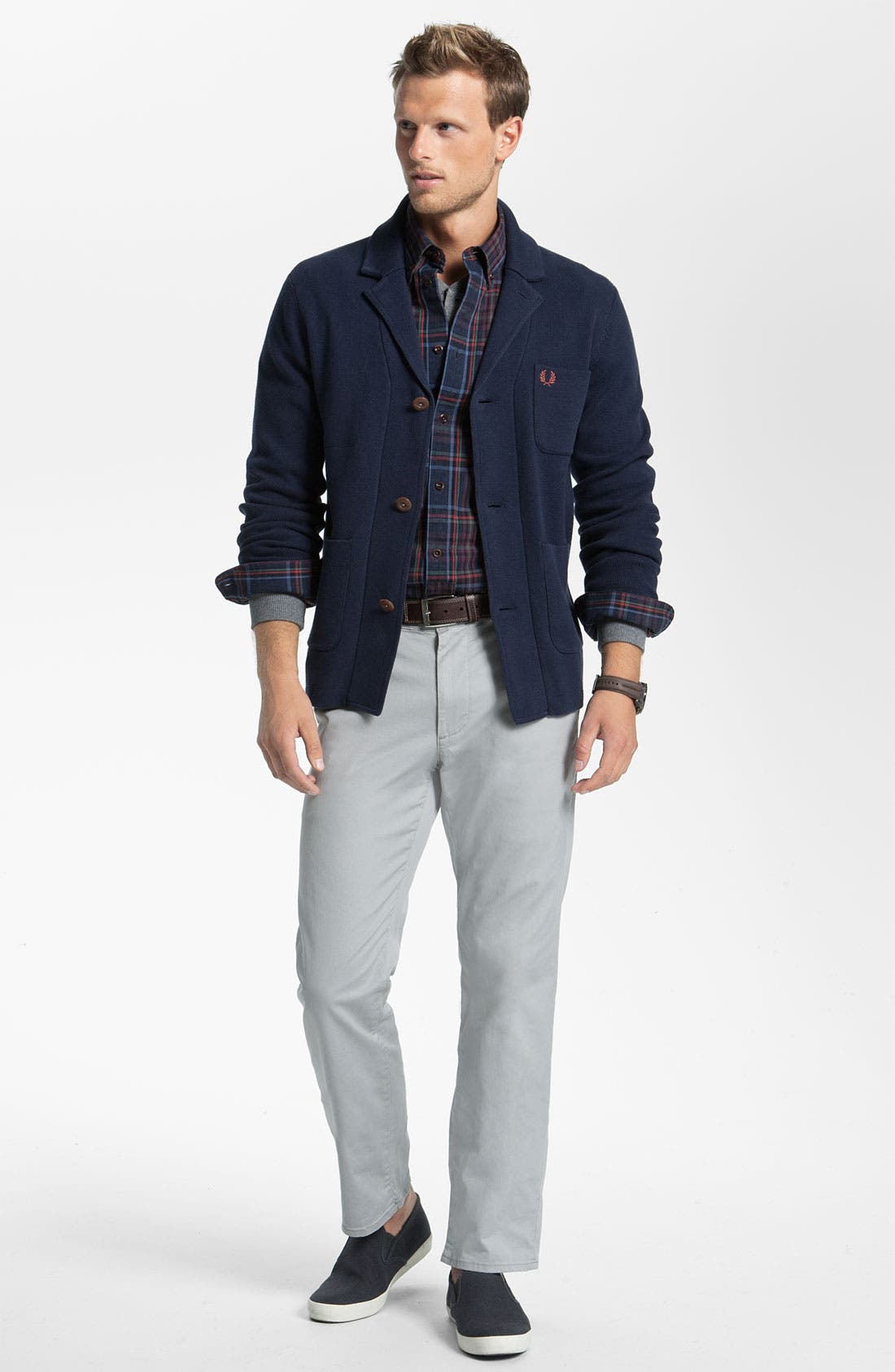 Alternate Image 4  - Fred Perry Jacket Cardigan