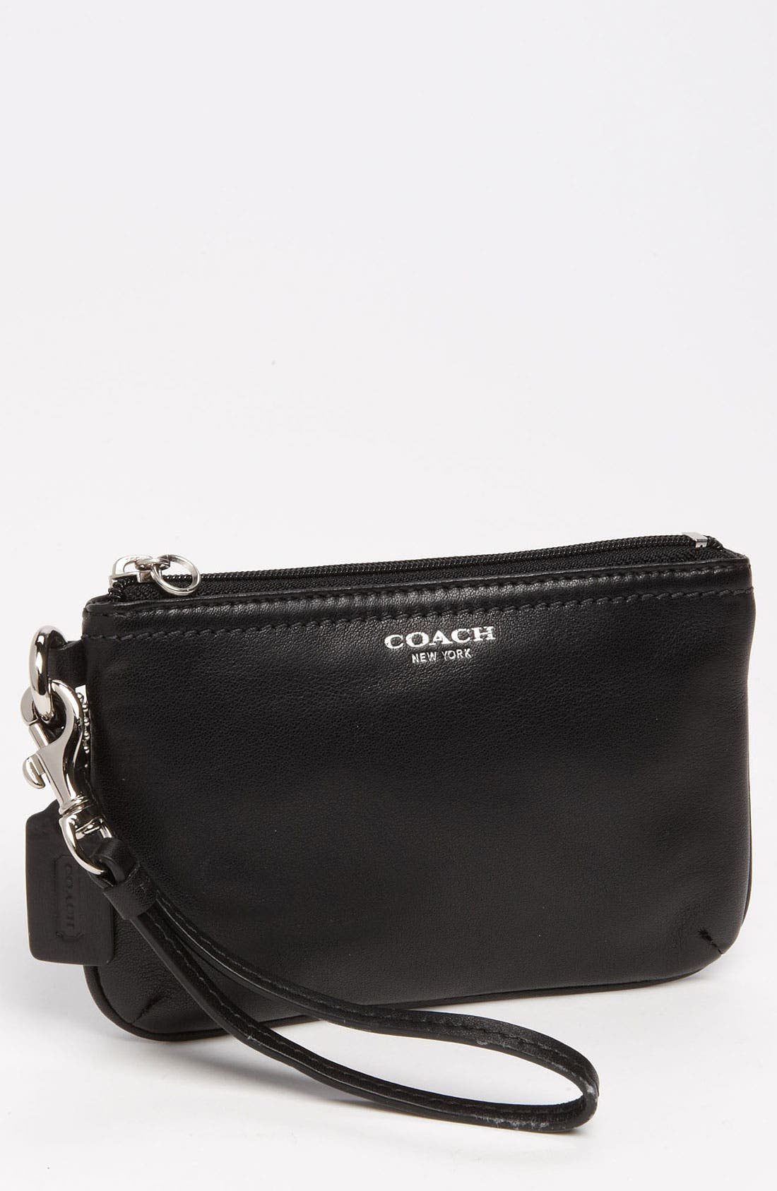 Alternate Image 1 Selected - COACH 'Legacy - Small' Leather Wristlet