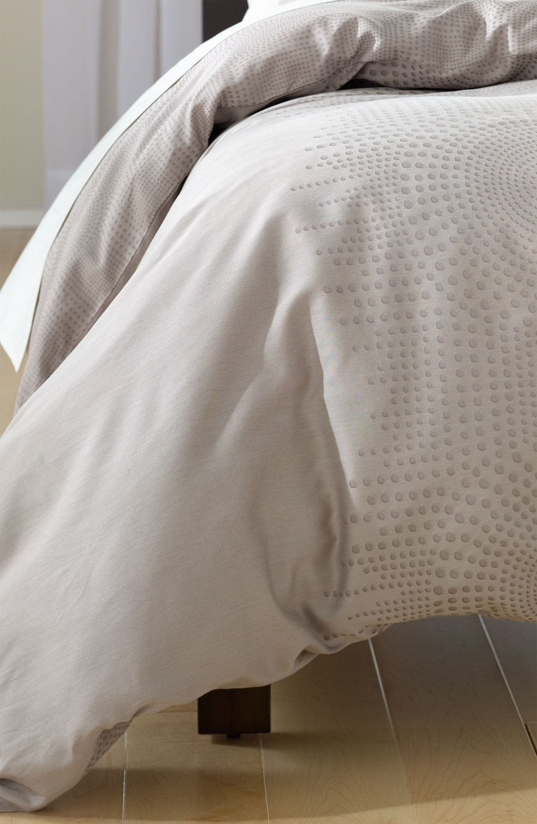Alternate Image 1 Selected - Nordstrom at Home 'Raindrops' Jacquard Duvet Cover