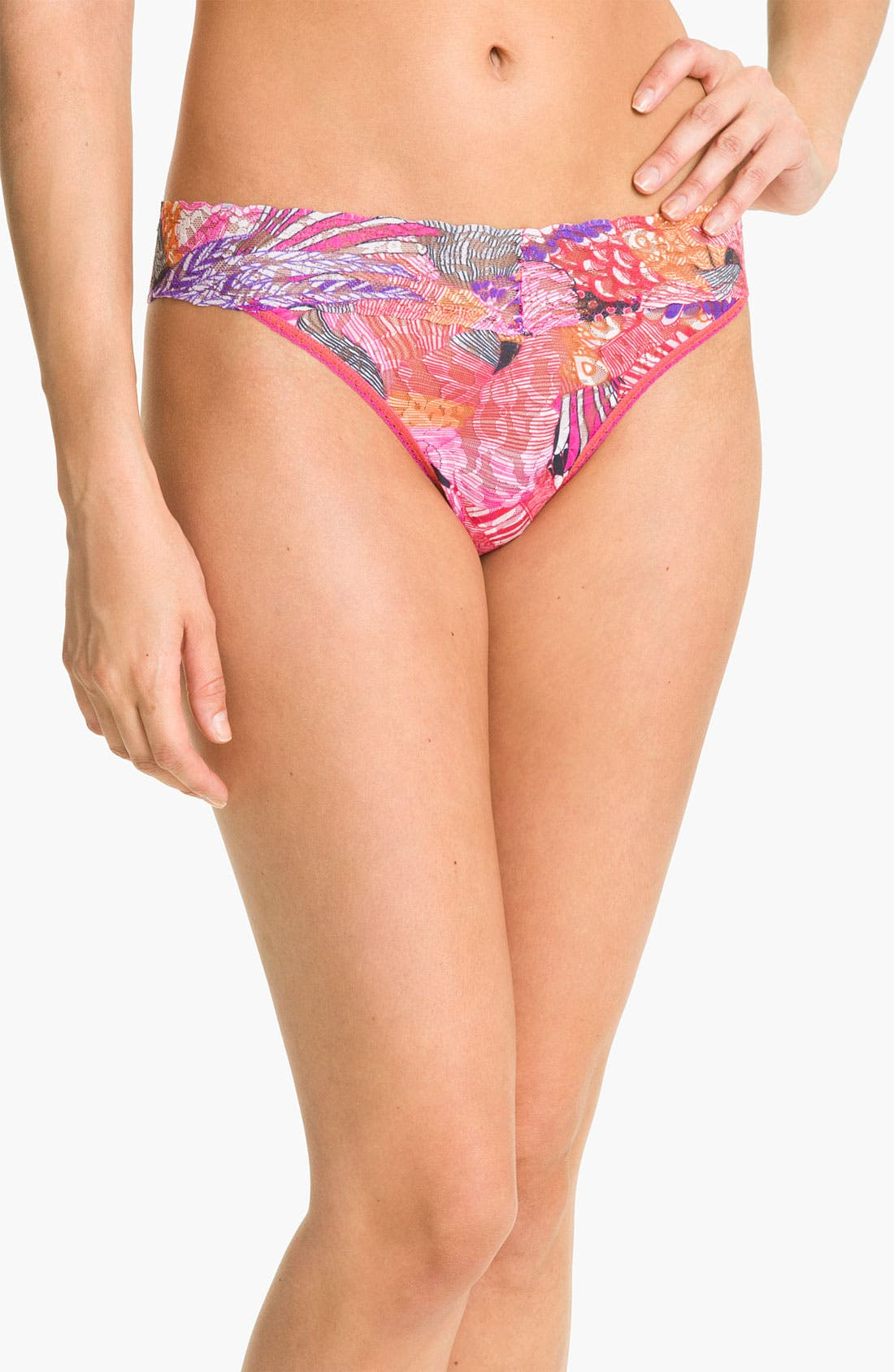 Alternate Image 1 Selected - Hanky Panky 'Carnaby' Regular Rise Thong