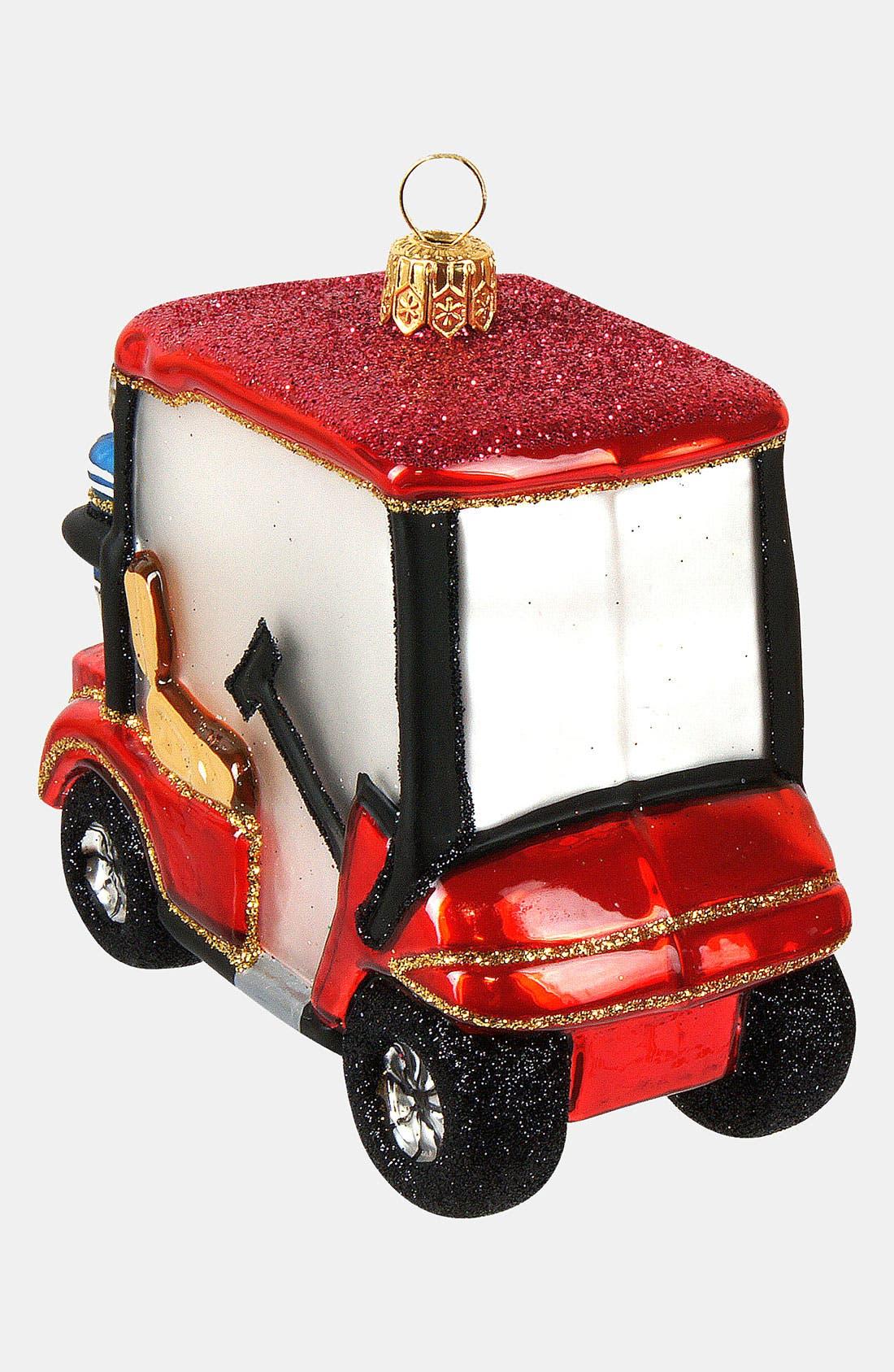 Alternate Image 2  - Nordstrom at Home 'Golf Cart' Ornament