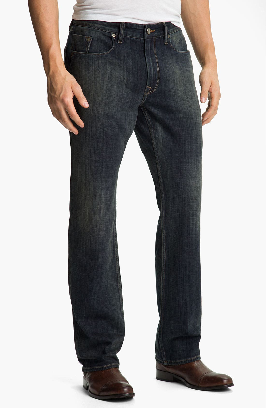 Main Image - Robert Graham Jeans 'Orion' Straight Leg Jeans (Indigo)