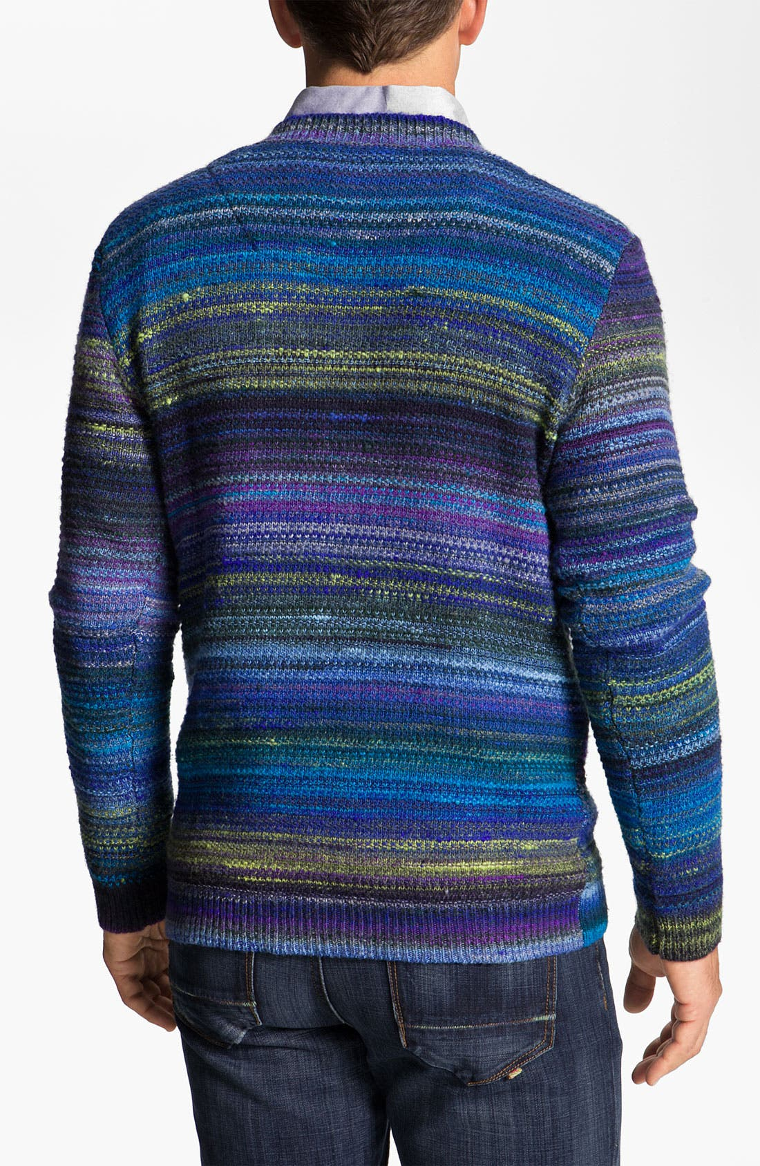 Alternate Image 2  - Robert Graham 'Huntingdon' V-Neck Wool Blend Sweater