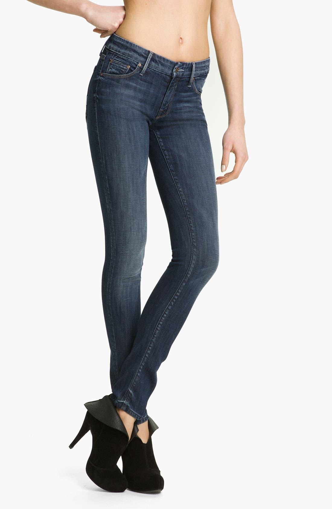 Alternate Image 1 Selected - MOTHER 'The Looker' Skinny Stretch Jeans (Deja Vu)