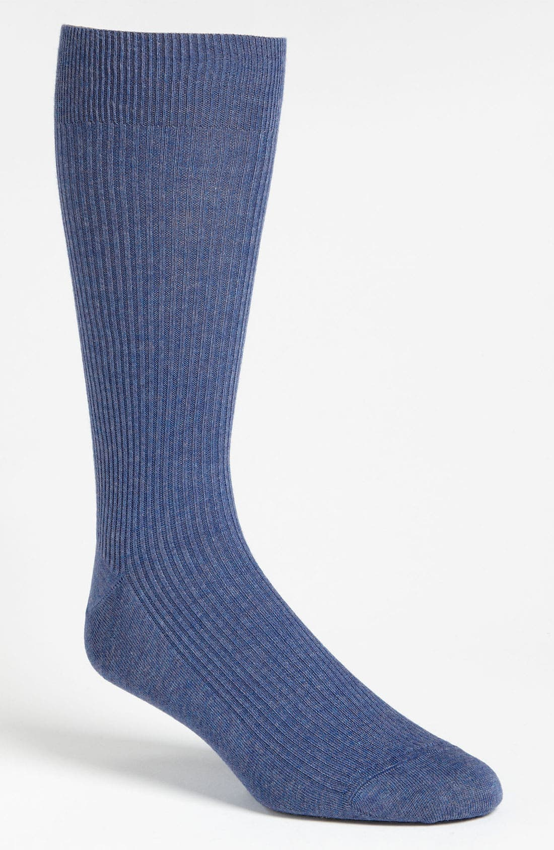 Alternate Image 1 Selected - Lorenzo Uomo Ribbed Socks