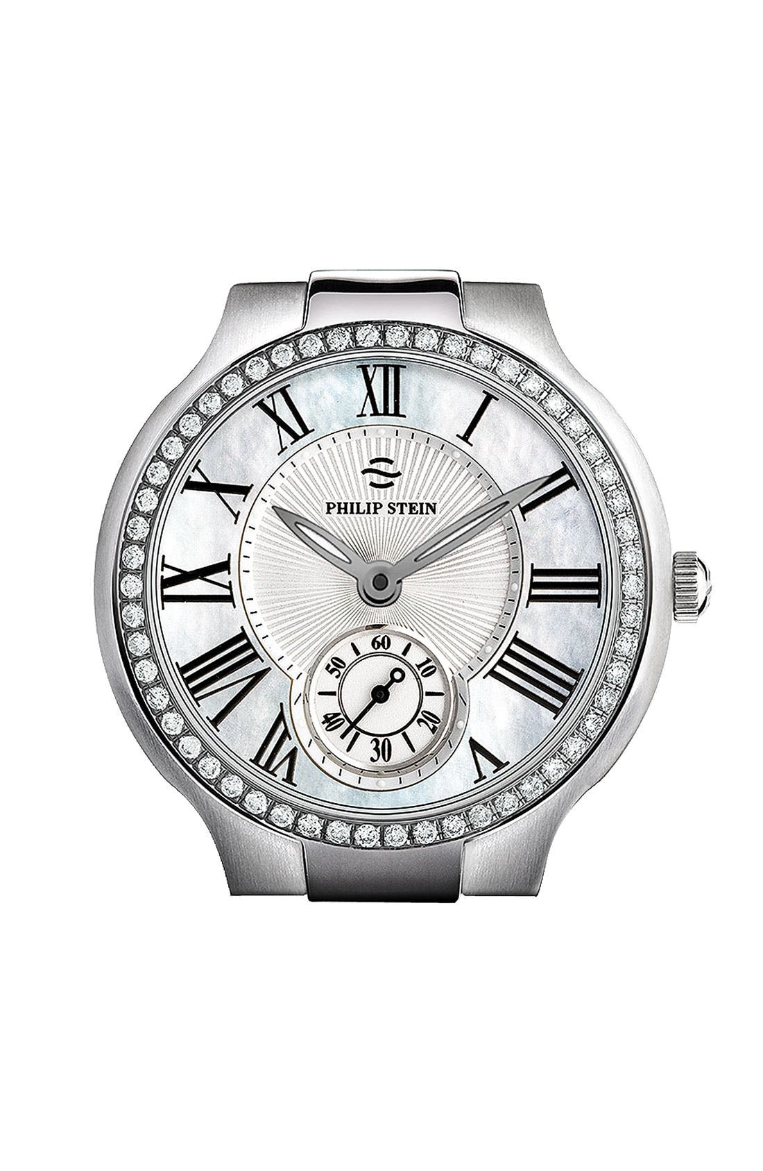 Alternate Image 1 Selected - Philip Stein® Diamond Watch Case
