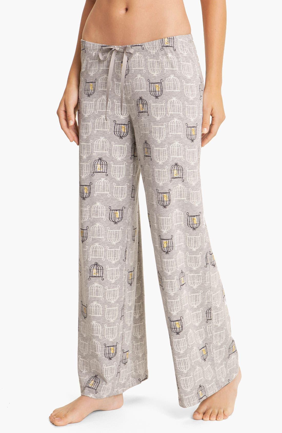 Alternate Image 1 Selected - Hue 'Birdcage' Pajama Pants