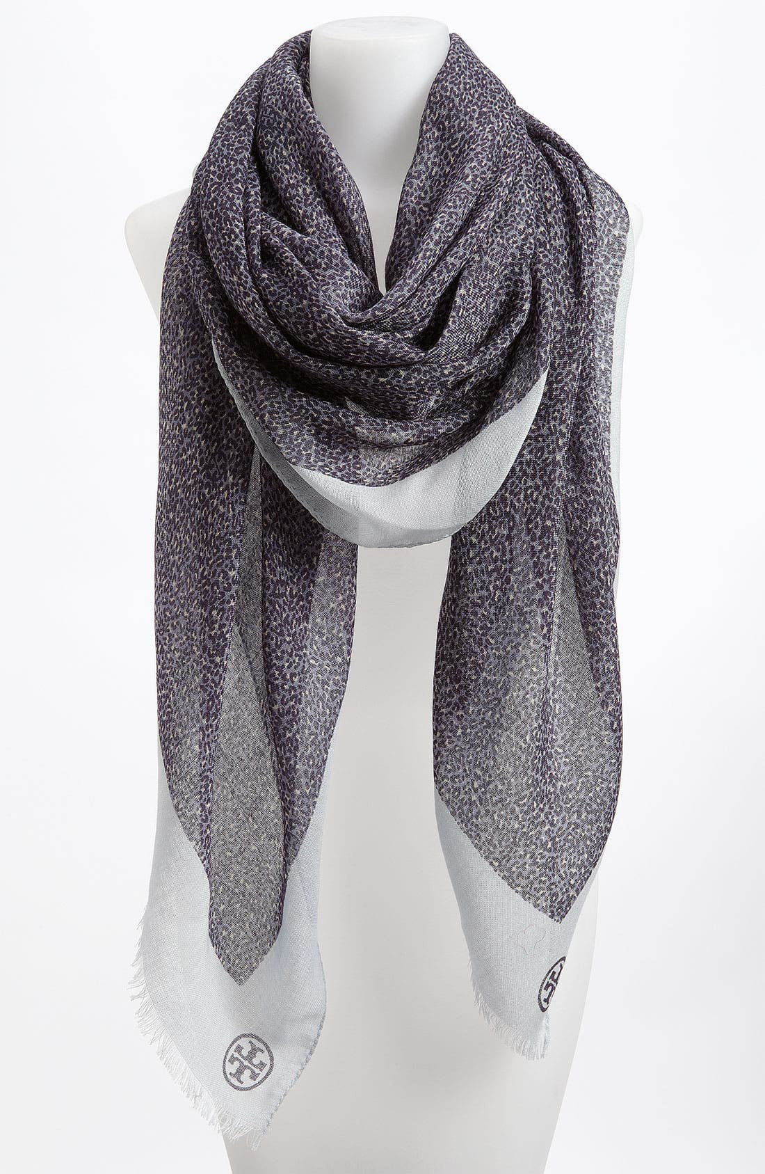 Main Image - Tory Burch 'Dunraven' Wool Scarf