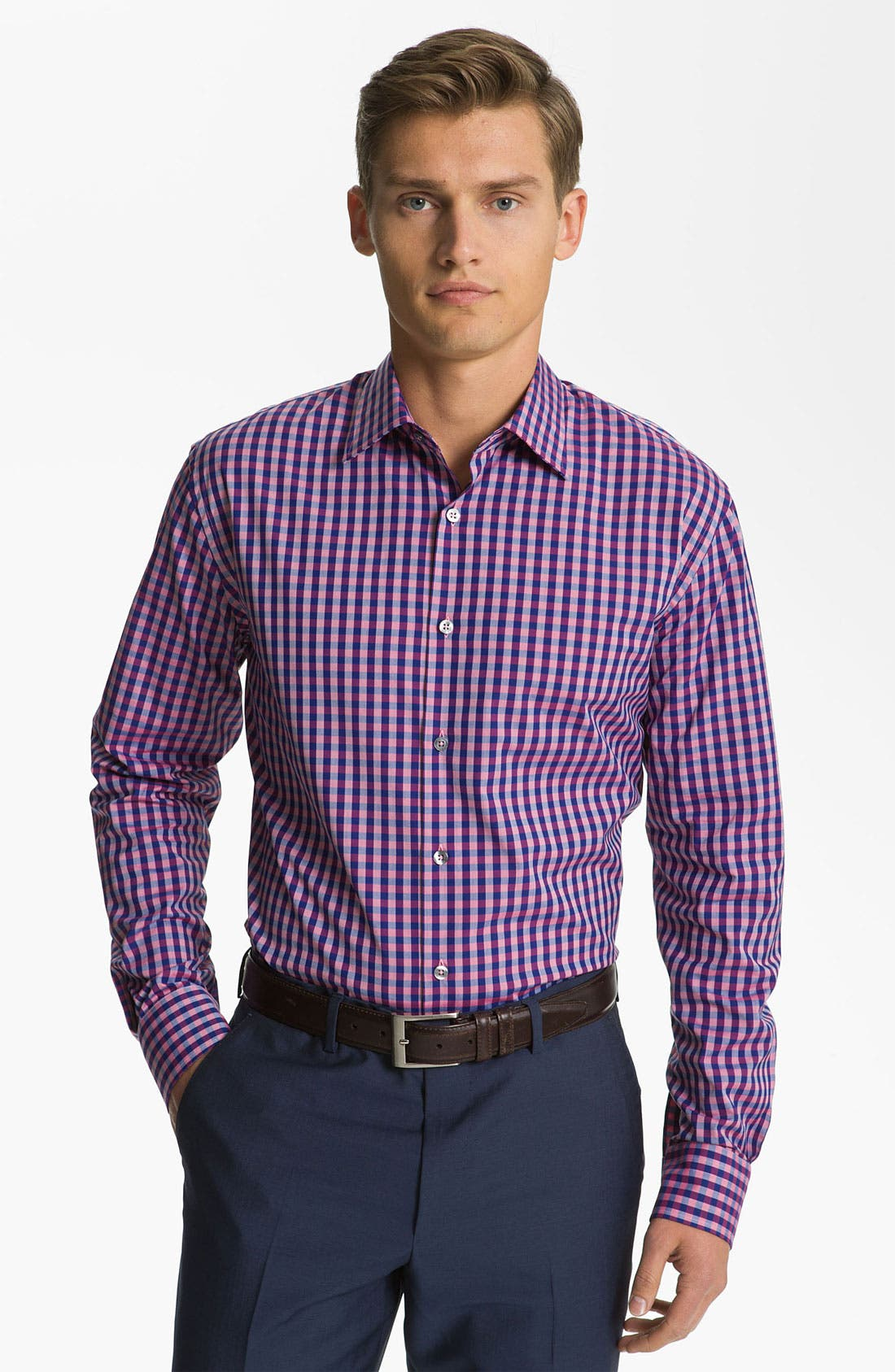 Alternate Image 1 Selected - Paul Smith London Check Dress Shirt