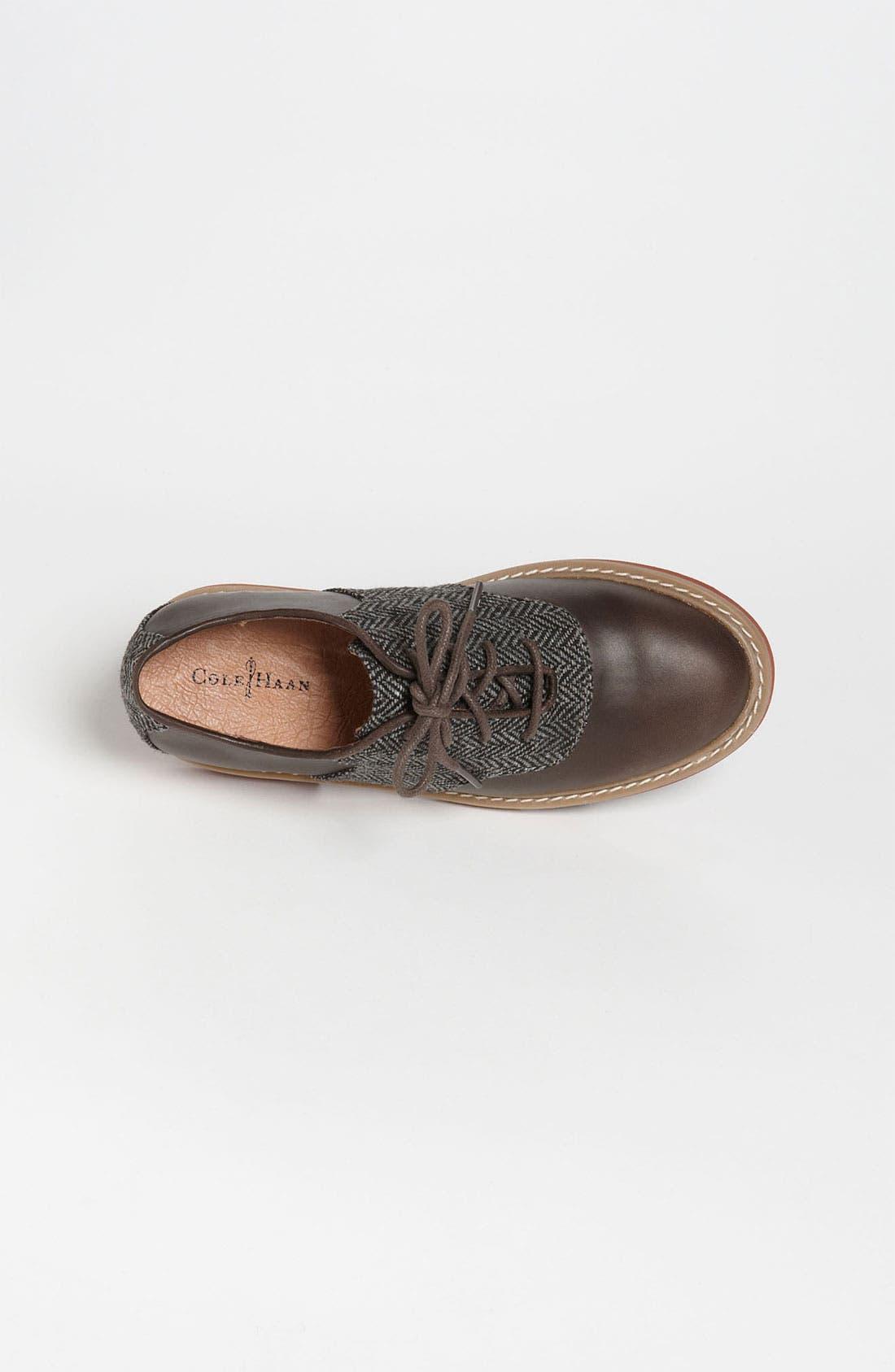 Alternate Image 3  - Cole Haan 'Air Franklin' Saddle Shoes (Toddler, Little Kid & Big Kid)