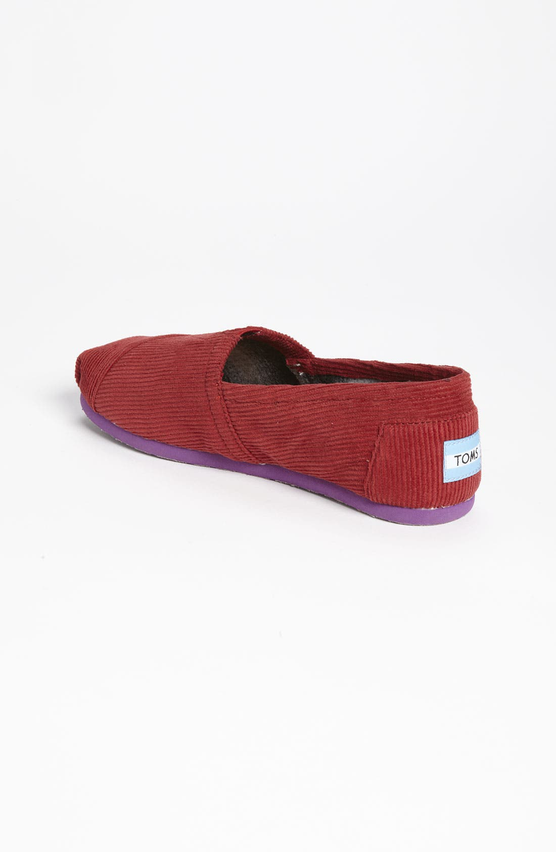 Alternate Image 2  - TOMS 'Classic - Color Pop' Corduroy Slip-On (Women)